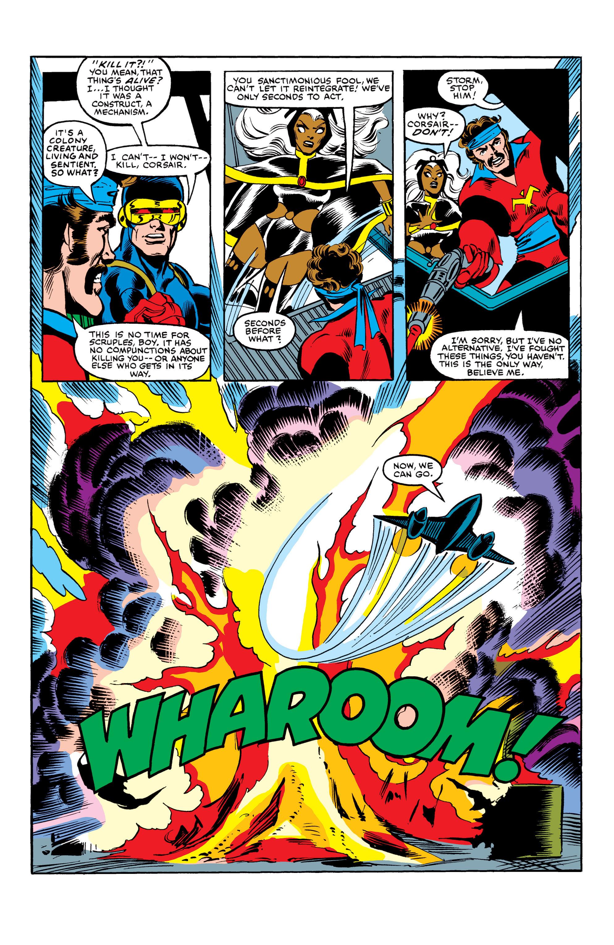 Read online Uncanny X-Men (1963) comic -  Issue #154 - 22