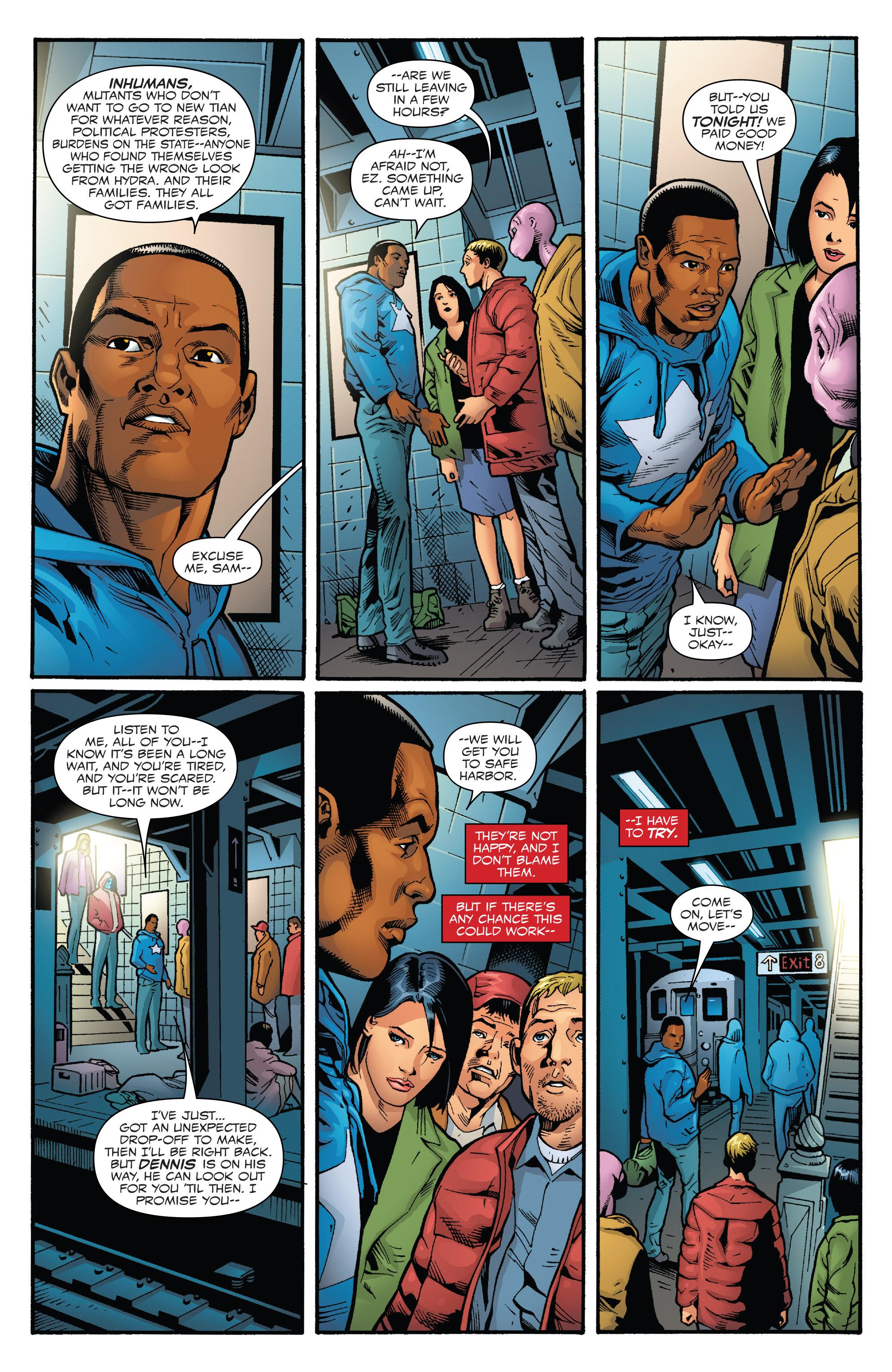 Read online Captain America: Sam Wilson comic -  Issue #23 - 6