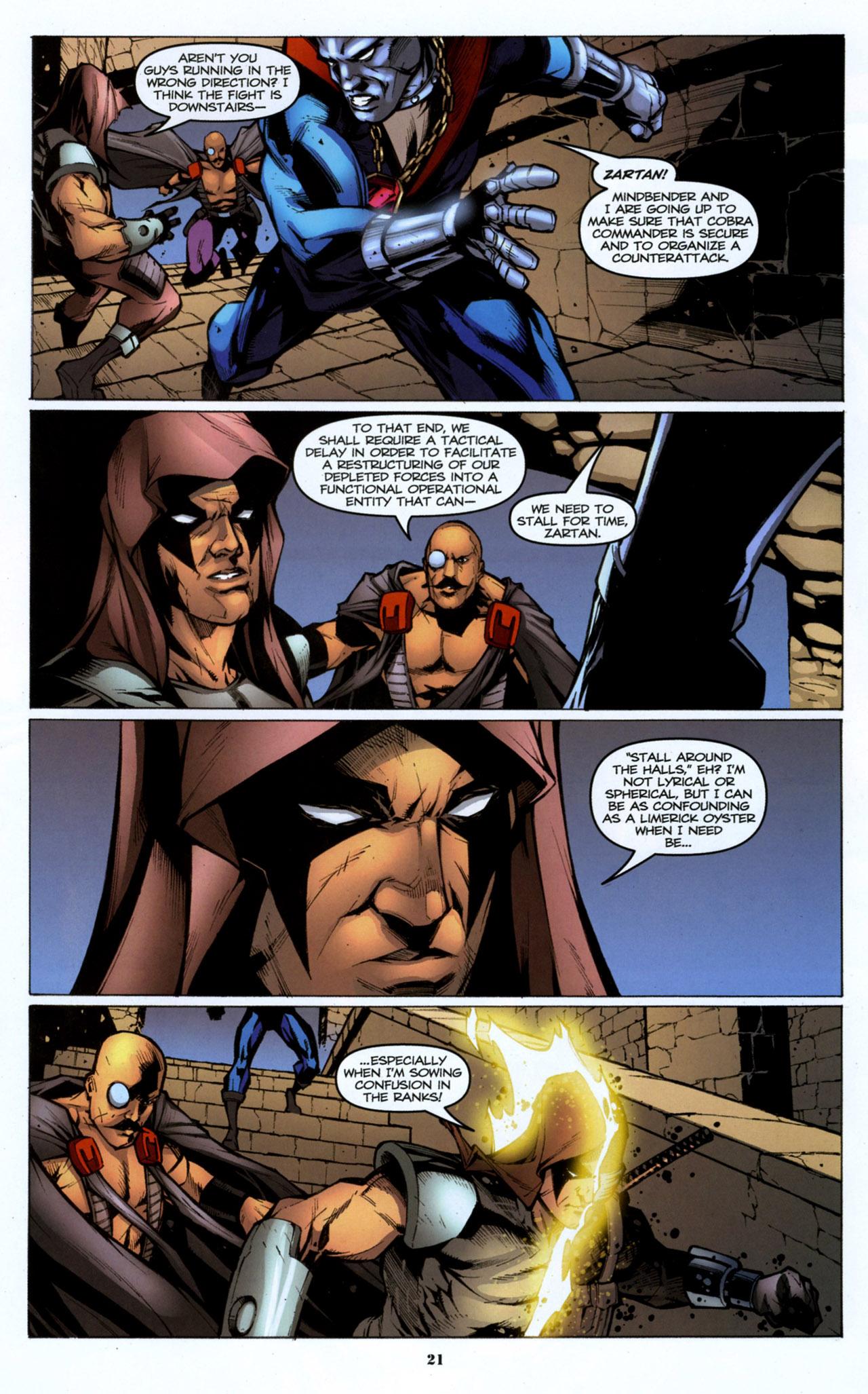 G.I. Joe: A Real American Hero 158 Page 22