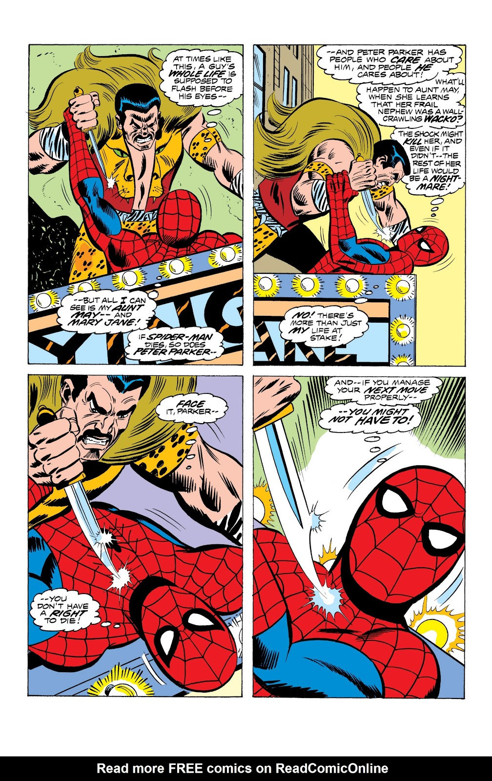 Read online Marvel Masterworks: The Spectacular Spider-Man comic -  Issue # TPB (Part 1) - 42