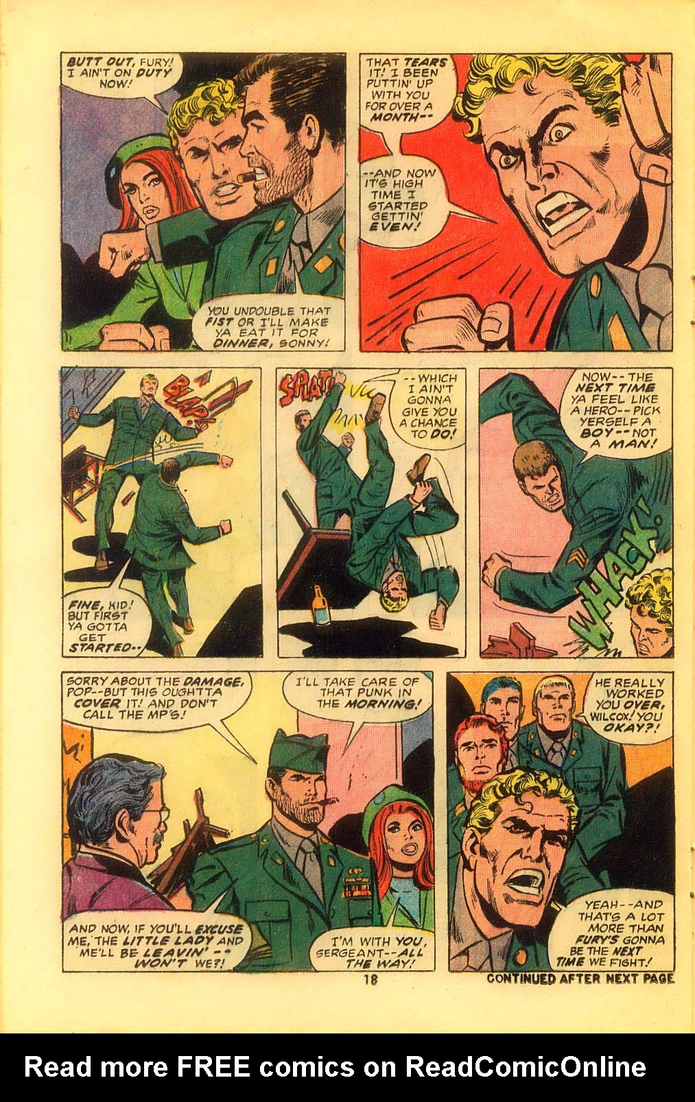 Read online Sgt. Fury comic -  Issue #116 - 20