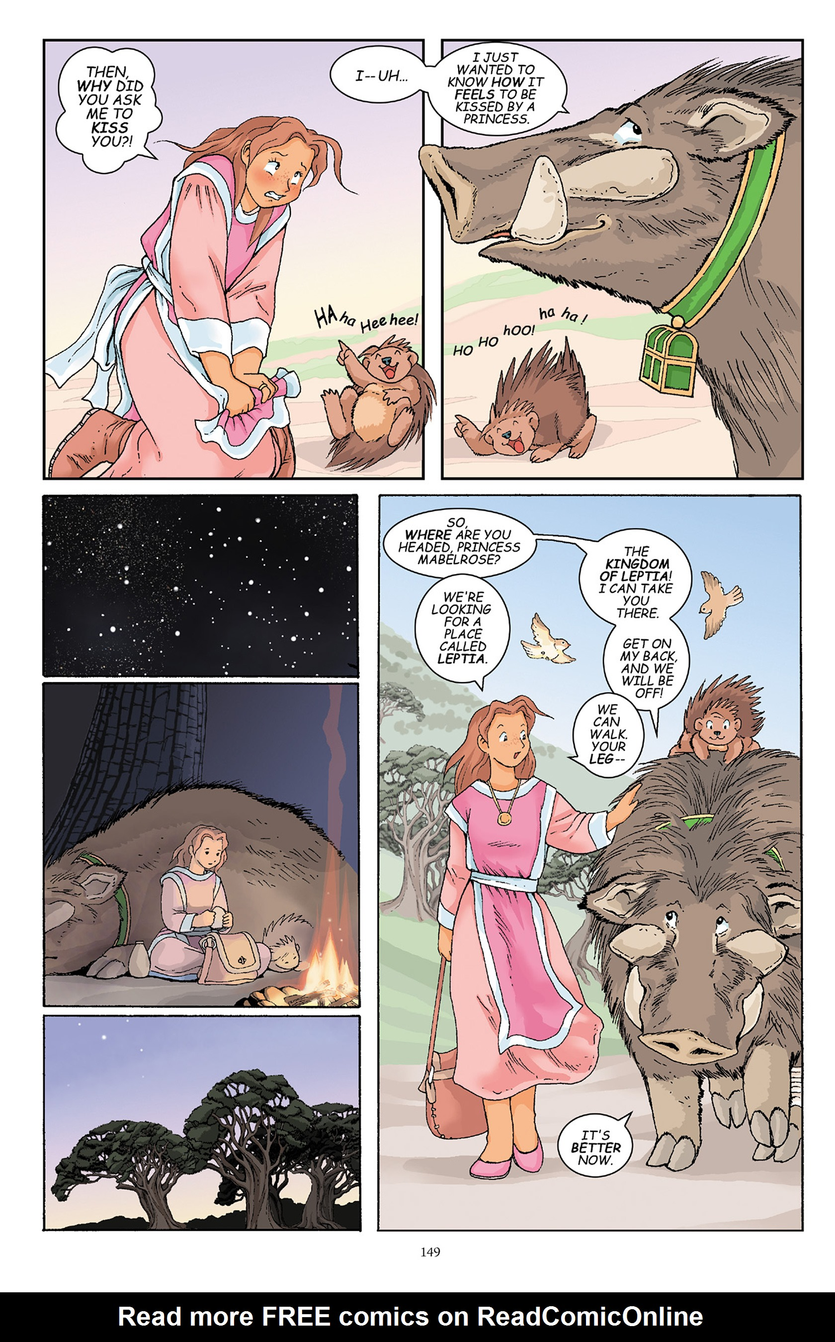 Read online Courageous Princess comic -  Issue # TPB 1 - 148