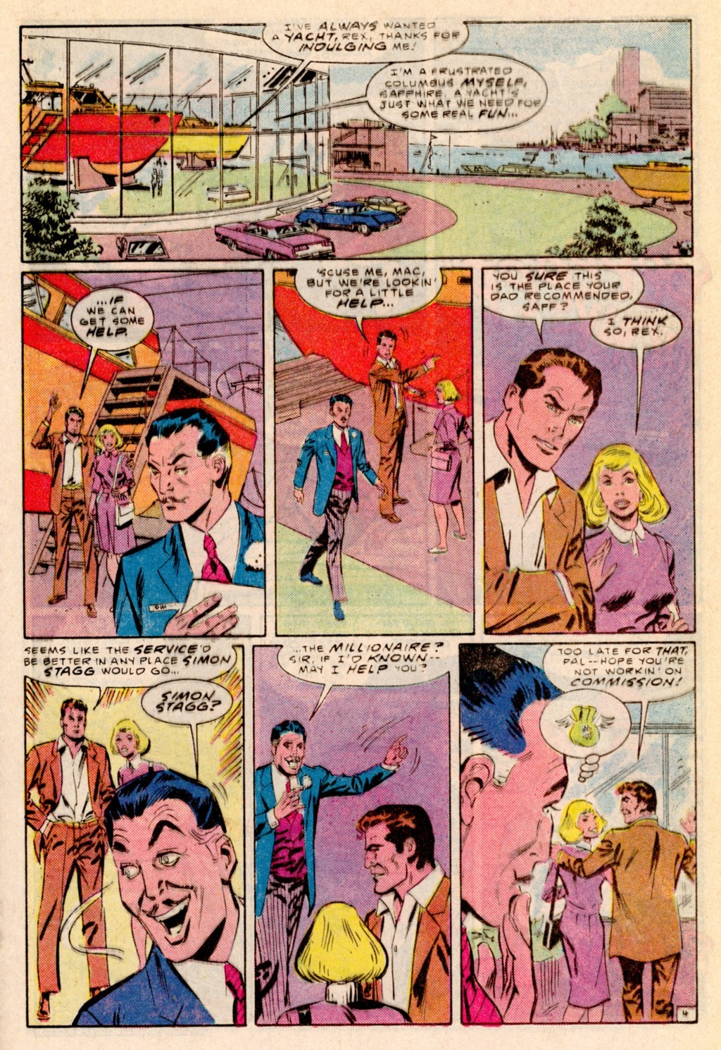 Read online Adventures of the Outsiders comic -  Issue #38 - 16