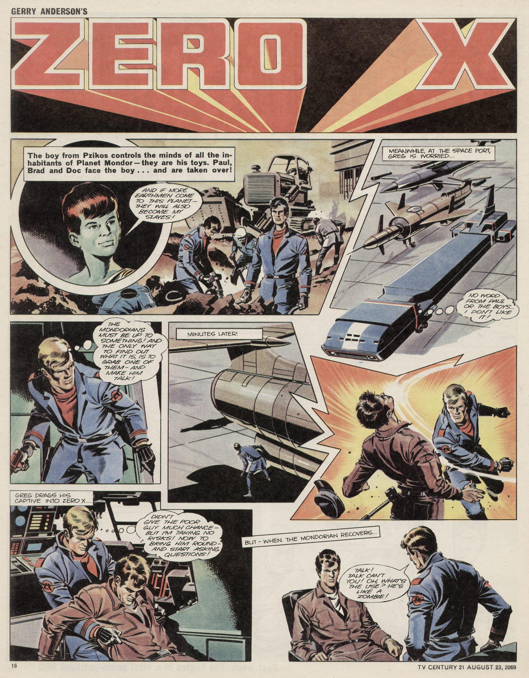 Read online TV Century 21 (TV 21) comic -  Issue #240 - 16