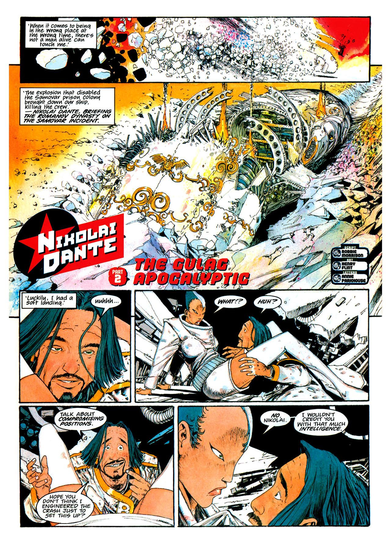 Read online Nikolai Dante comic -  Issue # TPB 1 - 161