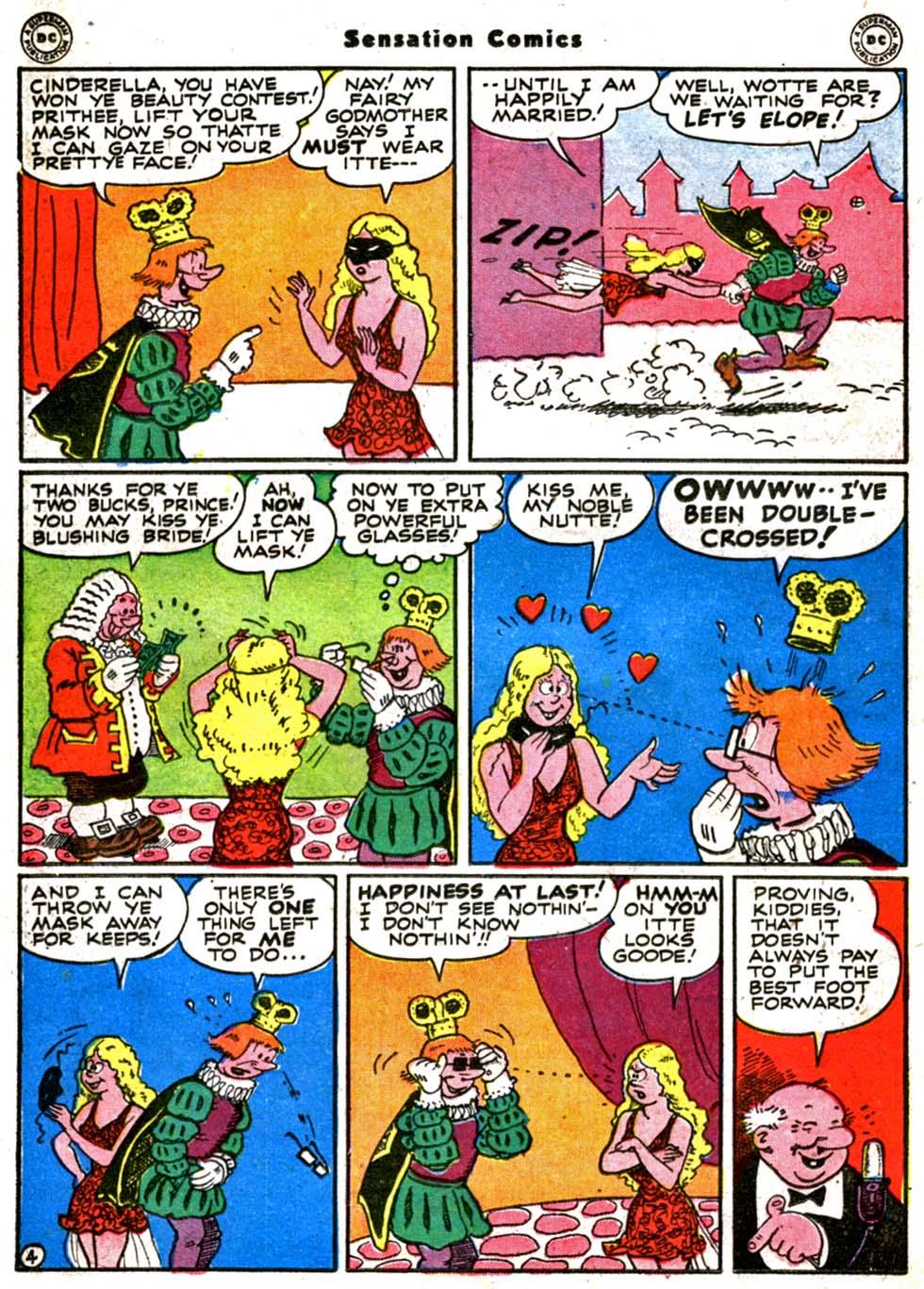 Read online Sensation (Mystery) Comics comic -  Issue #64 - 38
