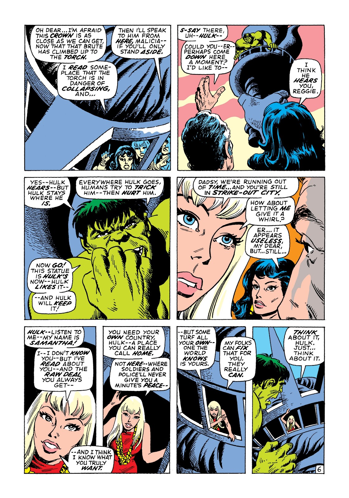 Read online Marvel Masterworks: The Incredible Hulk comic -  Issue # TPB 7 (Part 2) - 73