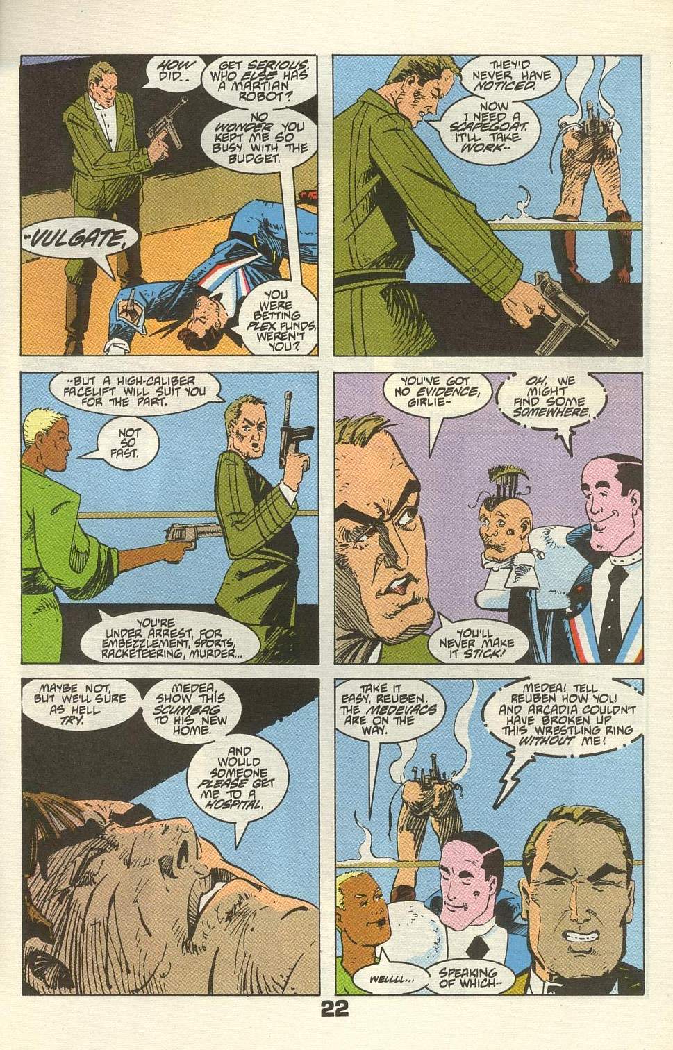 Read online American Flagg! comic -  Issue #34 - 27