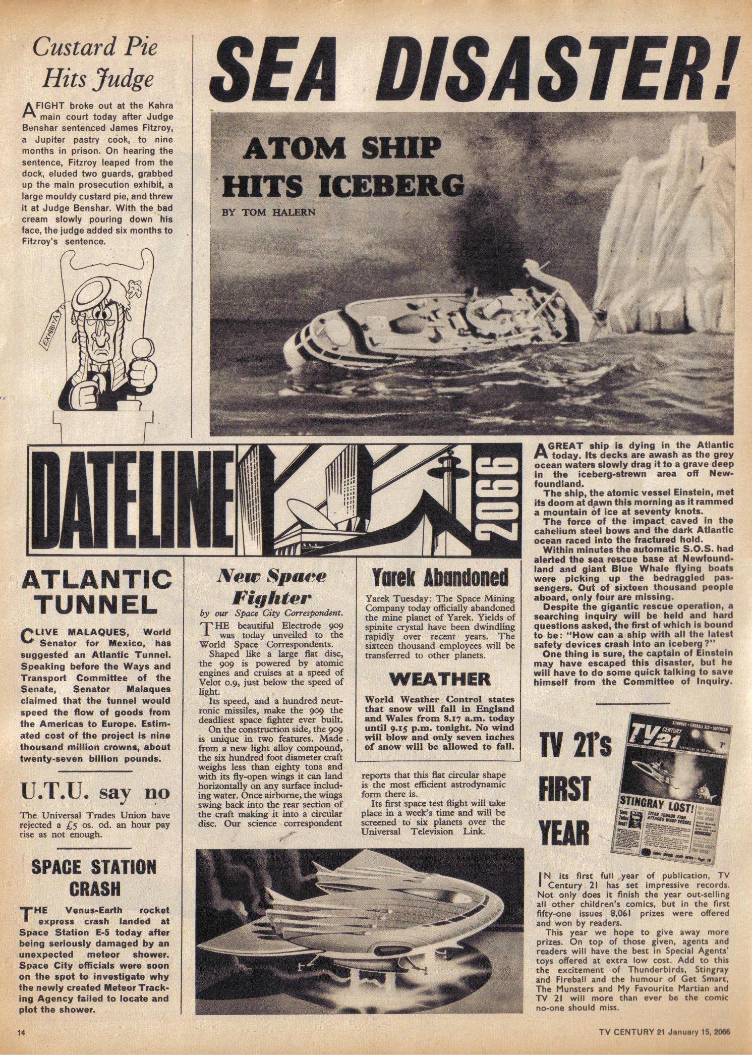 Read online TV Century 21 (TV 21) comic -  Issue #52 - 13
