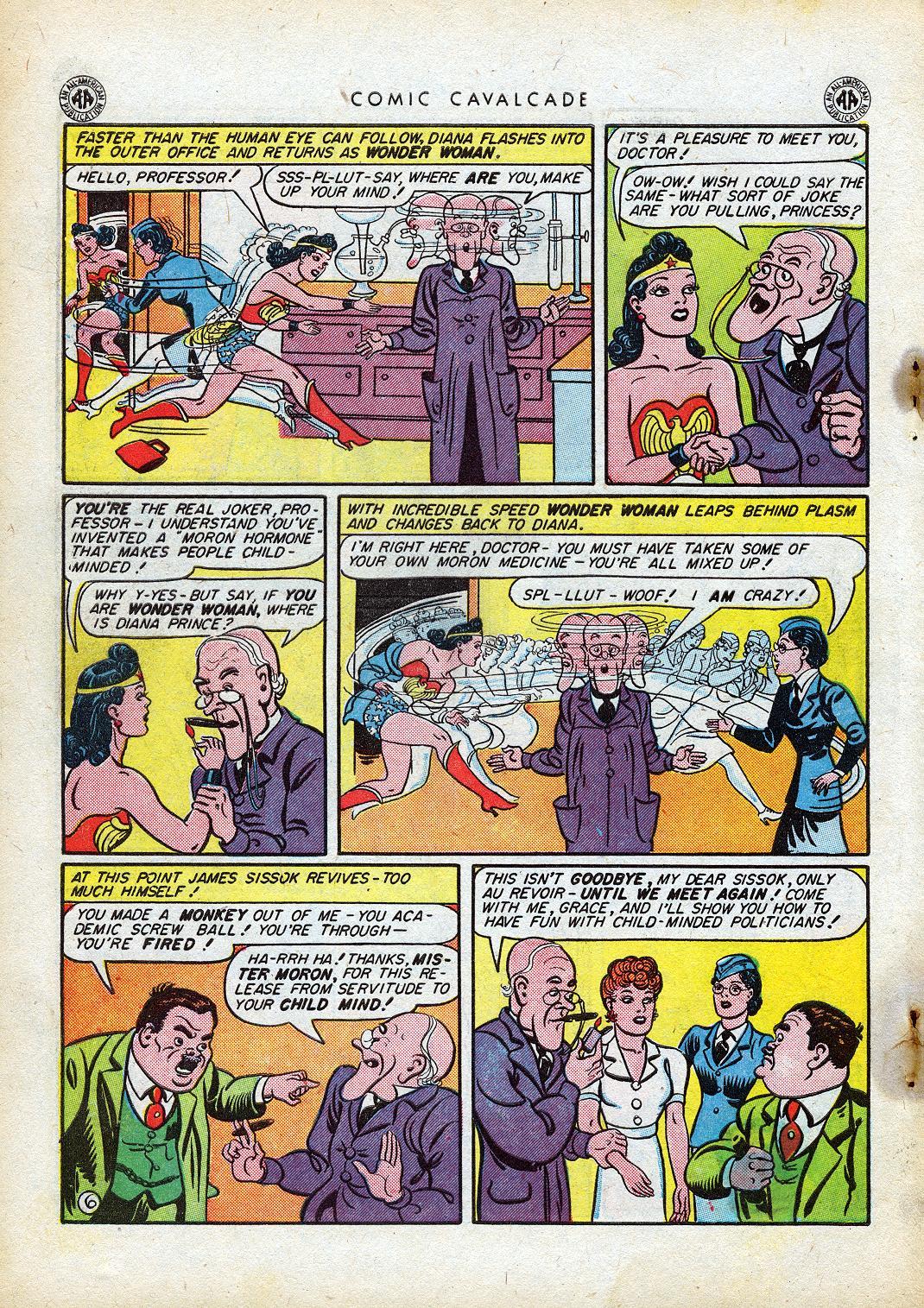 Comic Cavalcade issue 10 - Page 8