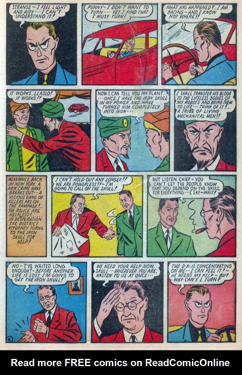 Read online Amazing Man Comics comic -  Issue #15 - 22