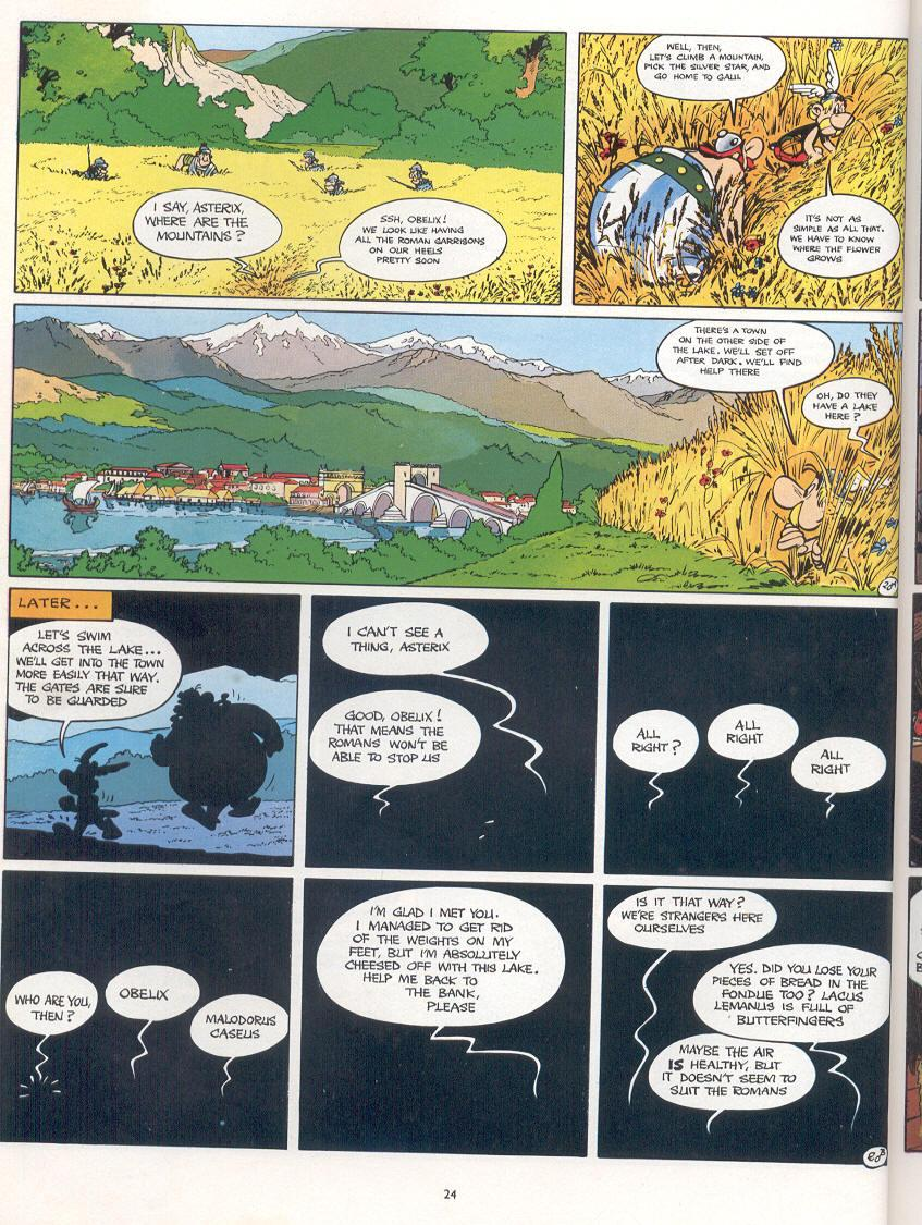 Read online Asterix comic -  Issue #16 - 21