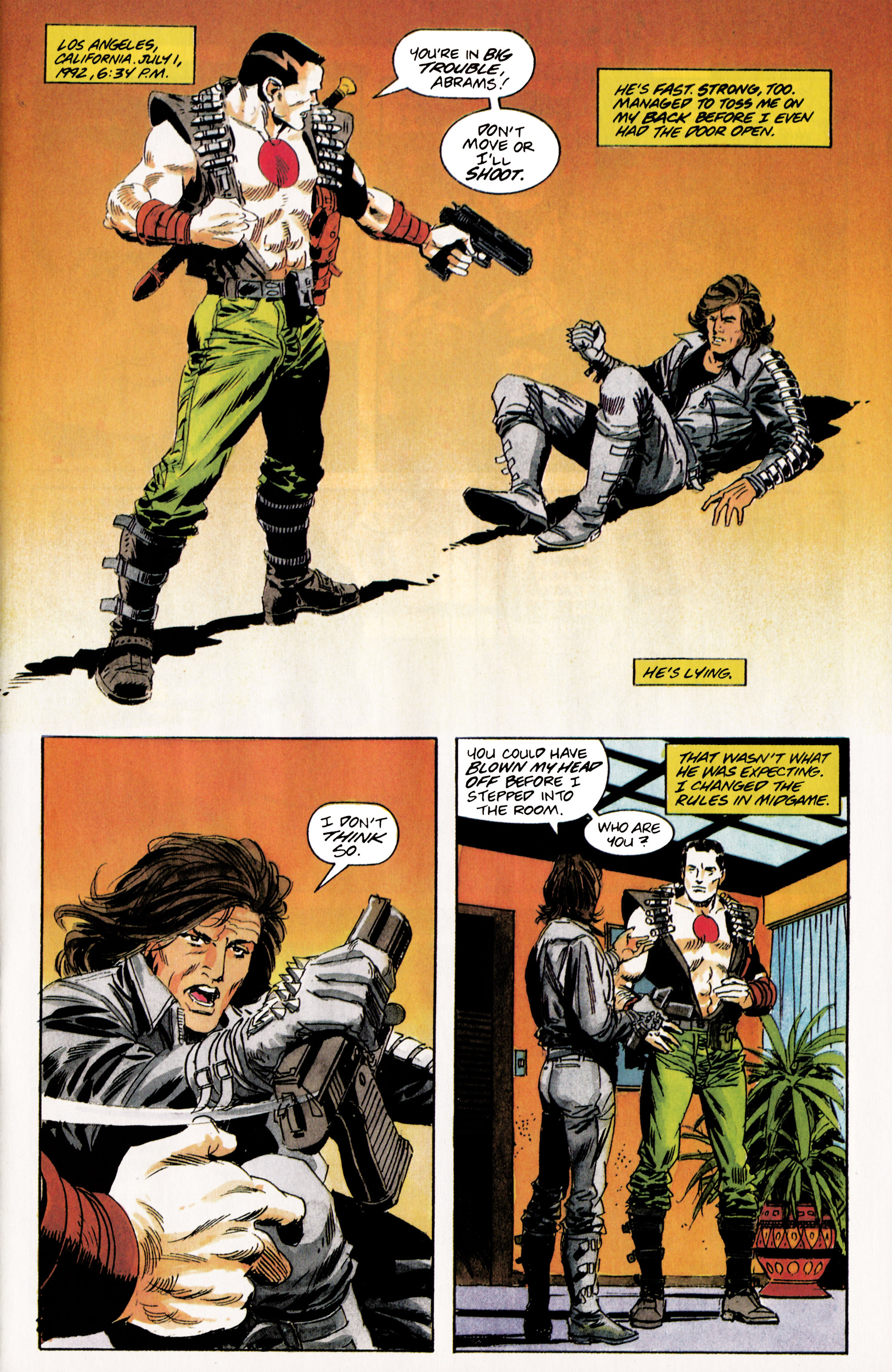 Read online Eternal Warrior (1992) comic -  Issue #5 - 6