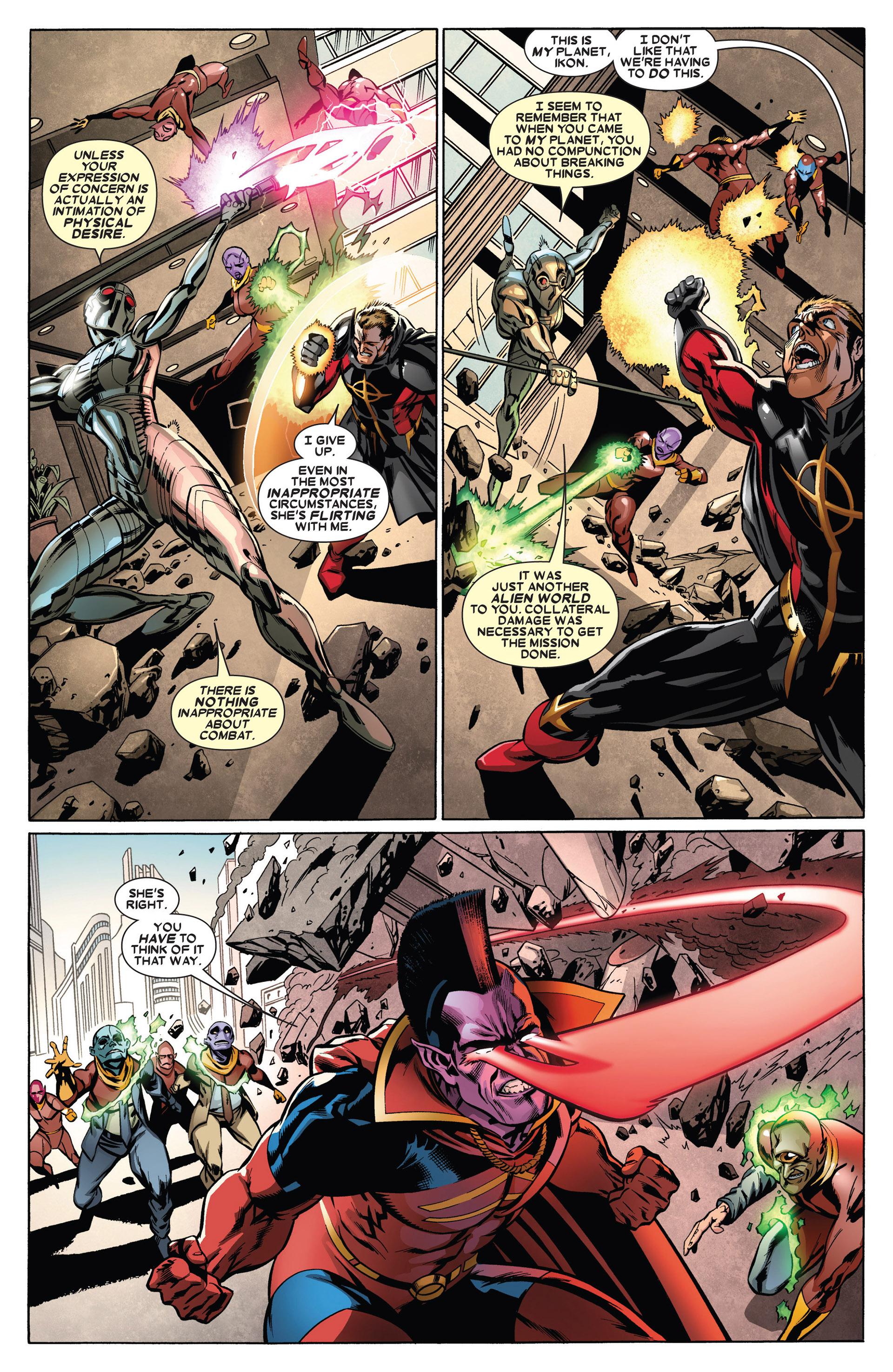 Read online Annihilators: Earthfall comic -  Issue #1 - 20