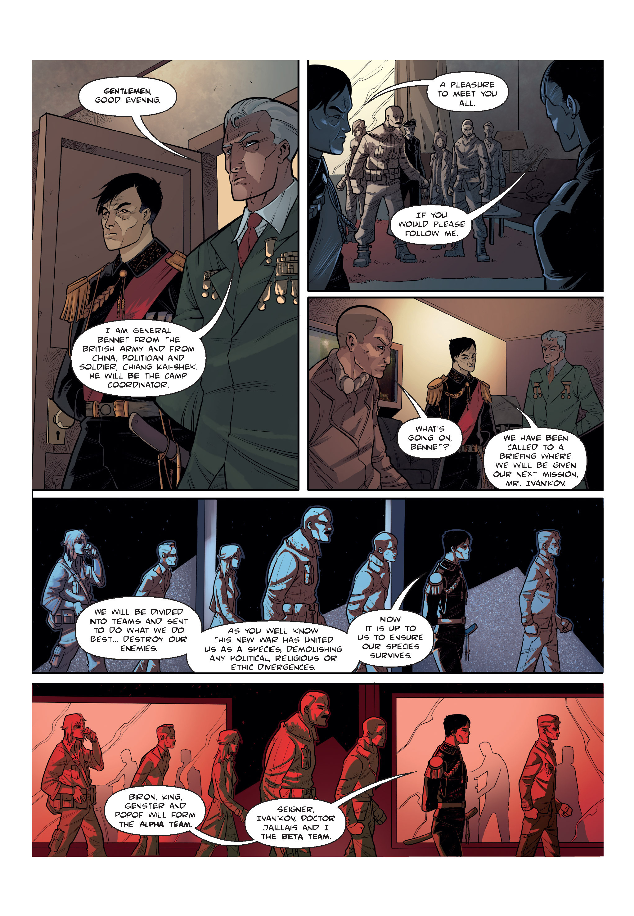 Read online The Shadow of a Terrible Thing comic -  Issue # TPB - 33
