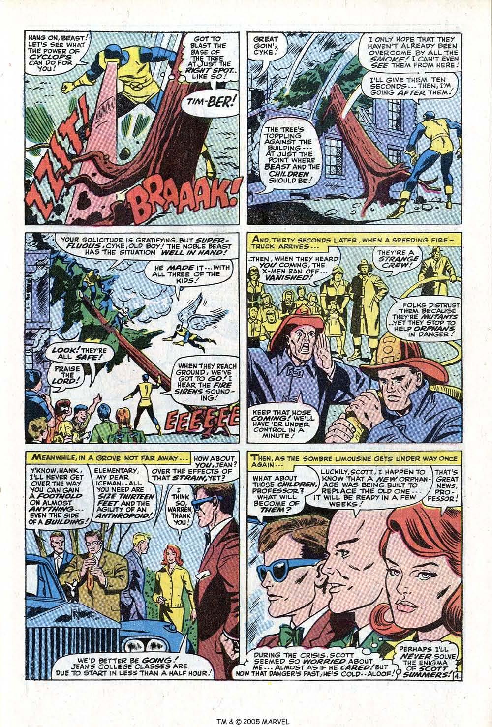 Read online Uncanny X-Men (1963) comic -  Issue #73 - 7