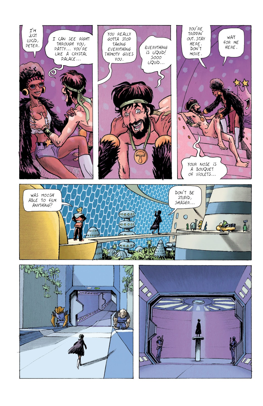 Read online Infinity 8 comic -  Issue #10 - 11