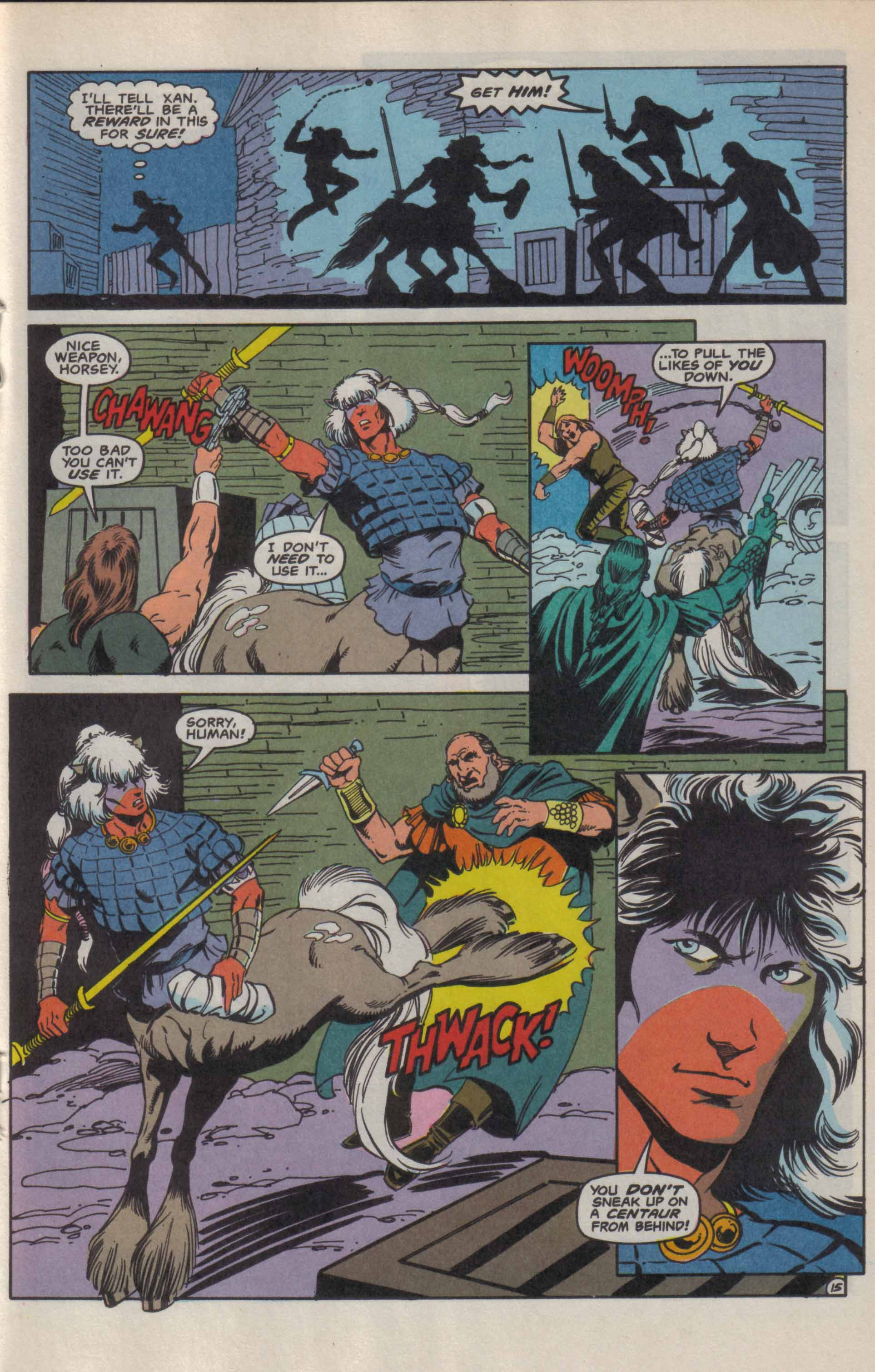 Read online Advanced Dungeons & Dragons comic -  Issue #9 - 16
