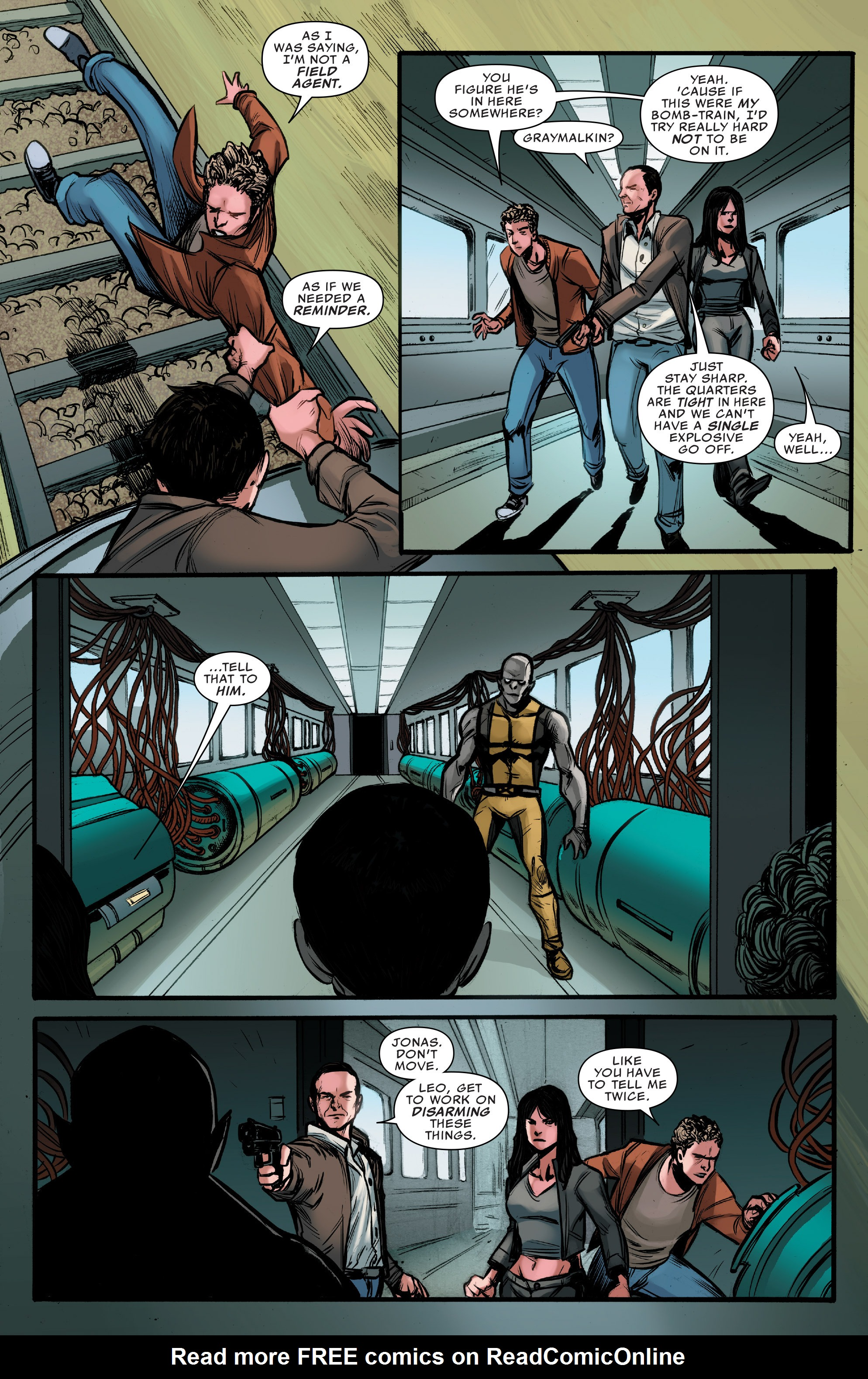 Read online Agents of S.H.I.E.L.D. comic -  Issue #9 - 14
