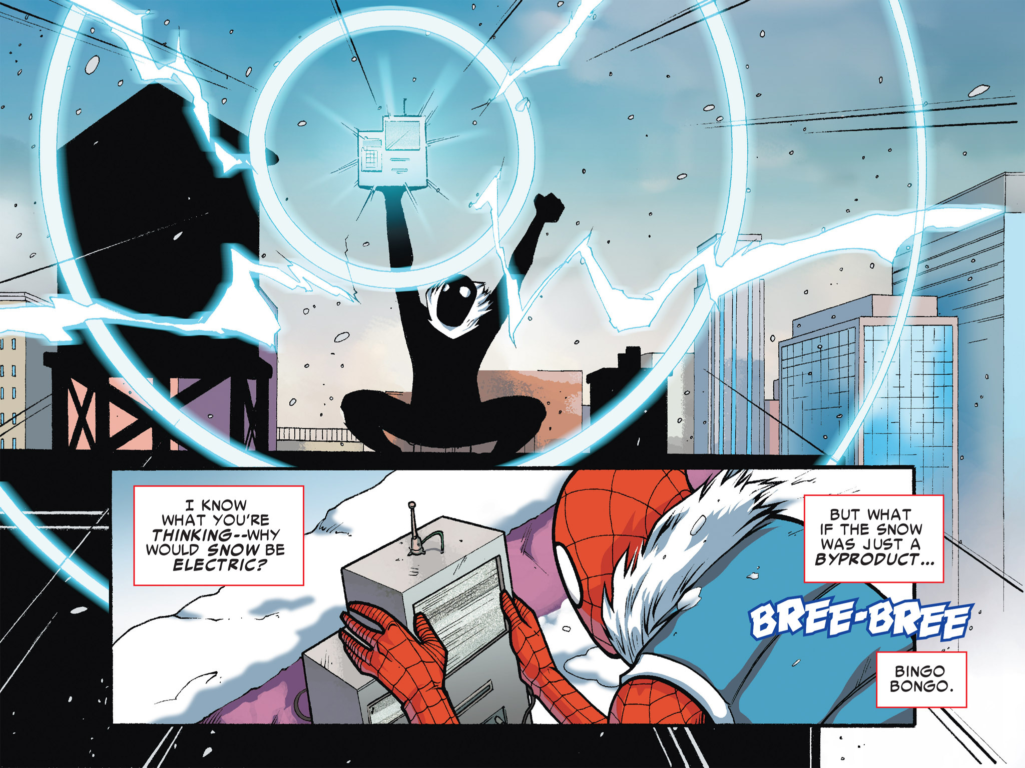 Read online Ultimate Spider-Man (Infinite Comics) (2016) comic -  Issue #7 - 28