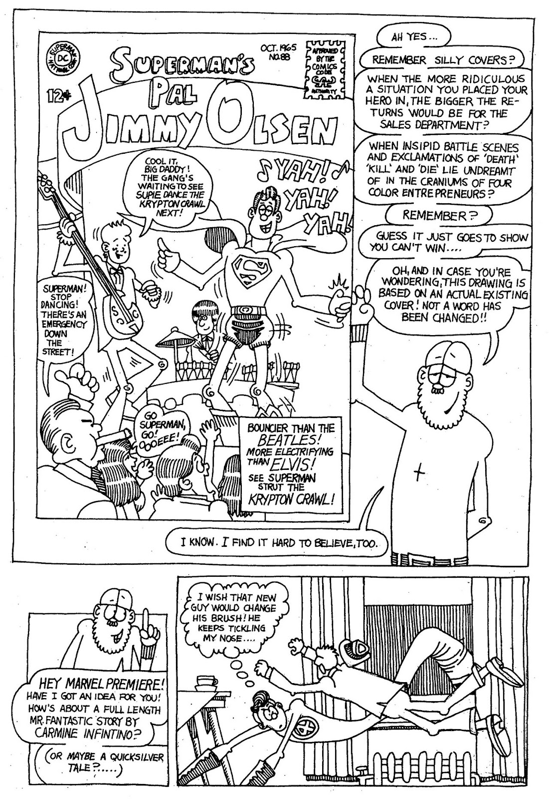 Read online The Nearly Complete Essential Hembeck Archives Omnibus comic -  Issue # TPB (Part 1) - 49