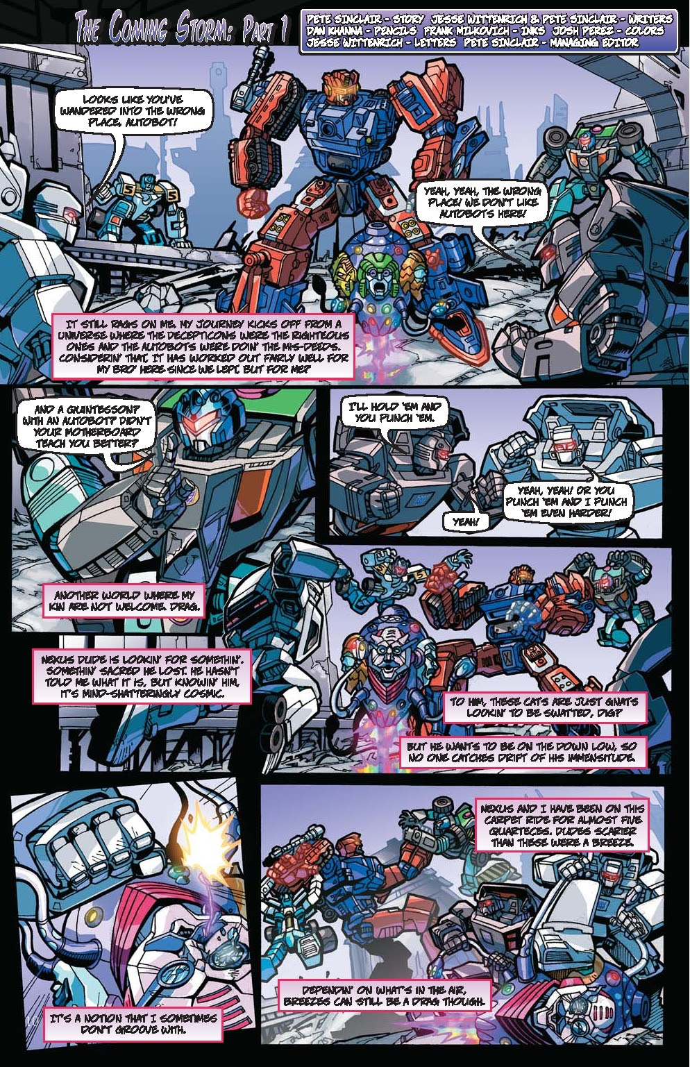 Read online Transformers: Collectors' Club comic -  Issue #31 - 10