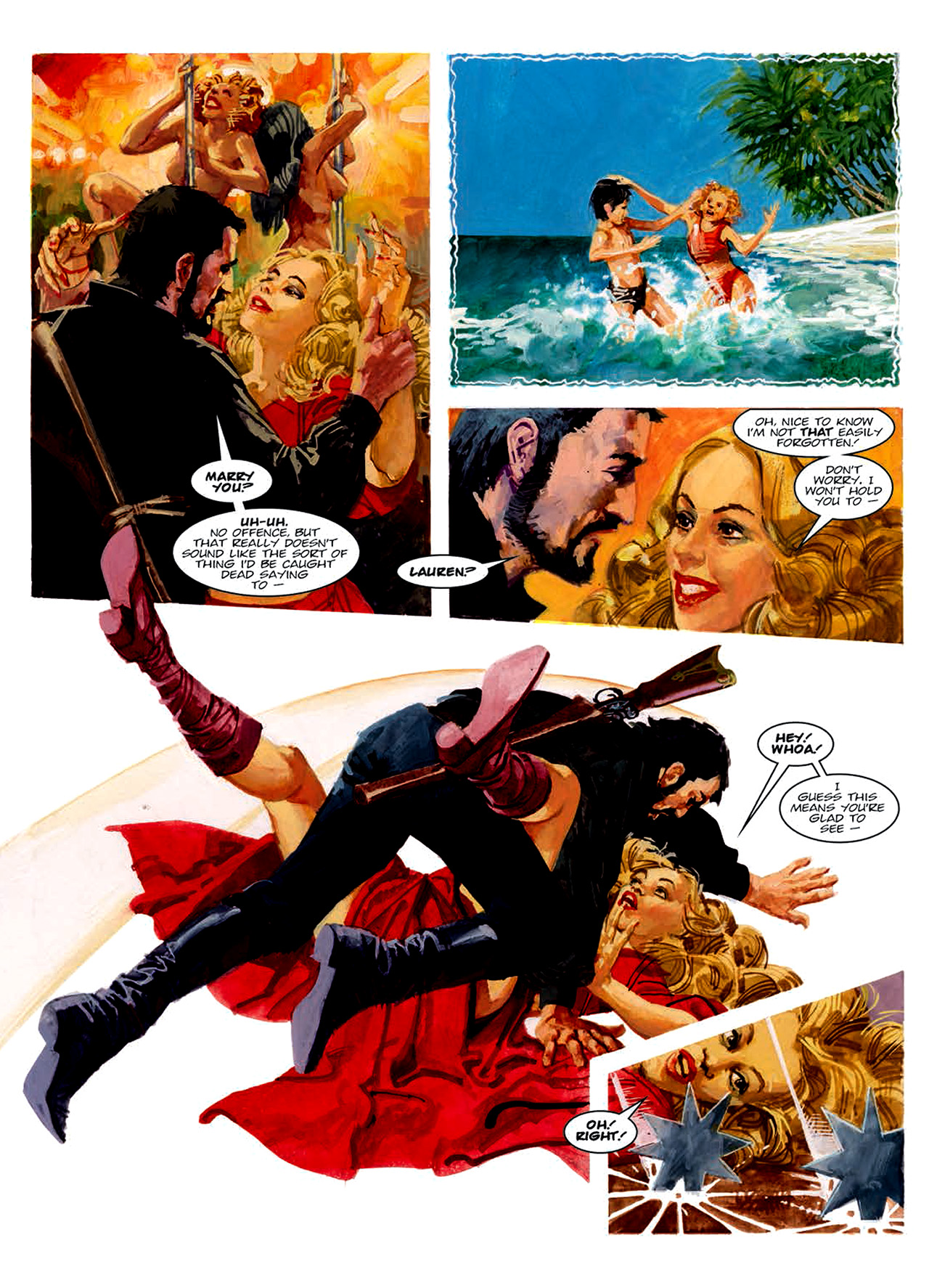 Read online Nikolai Dante comic -  Issue # TPB 6 - 162