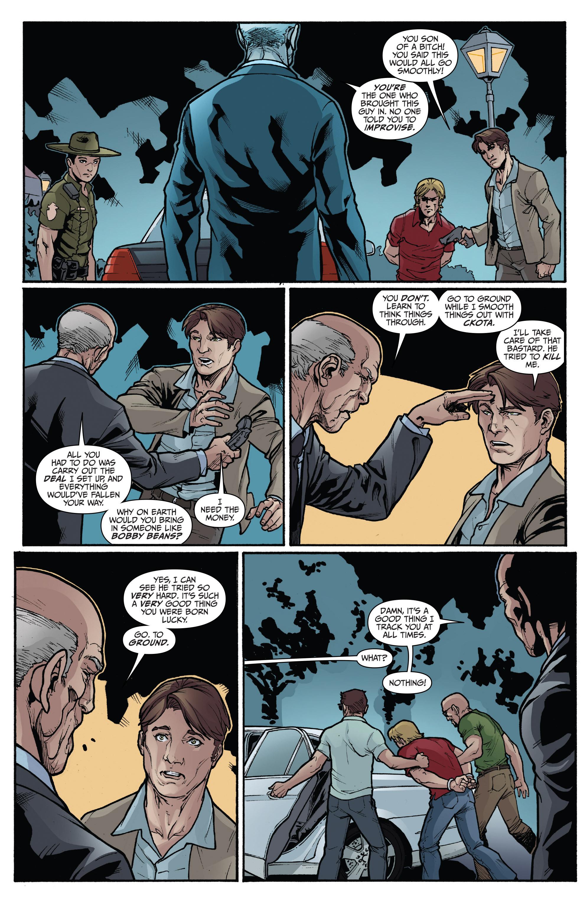 Read online 3 Guns comic -  Issue #4 - 11