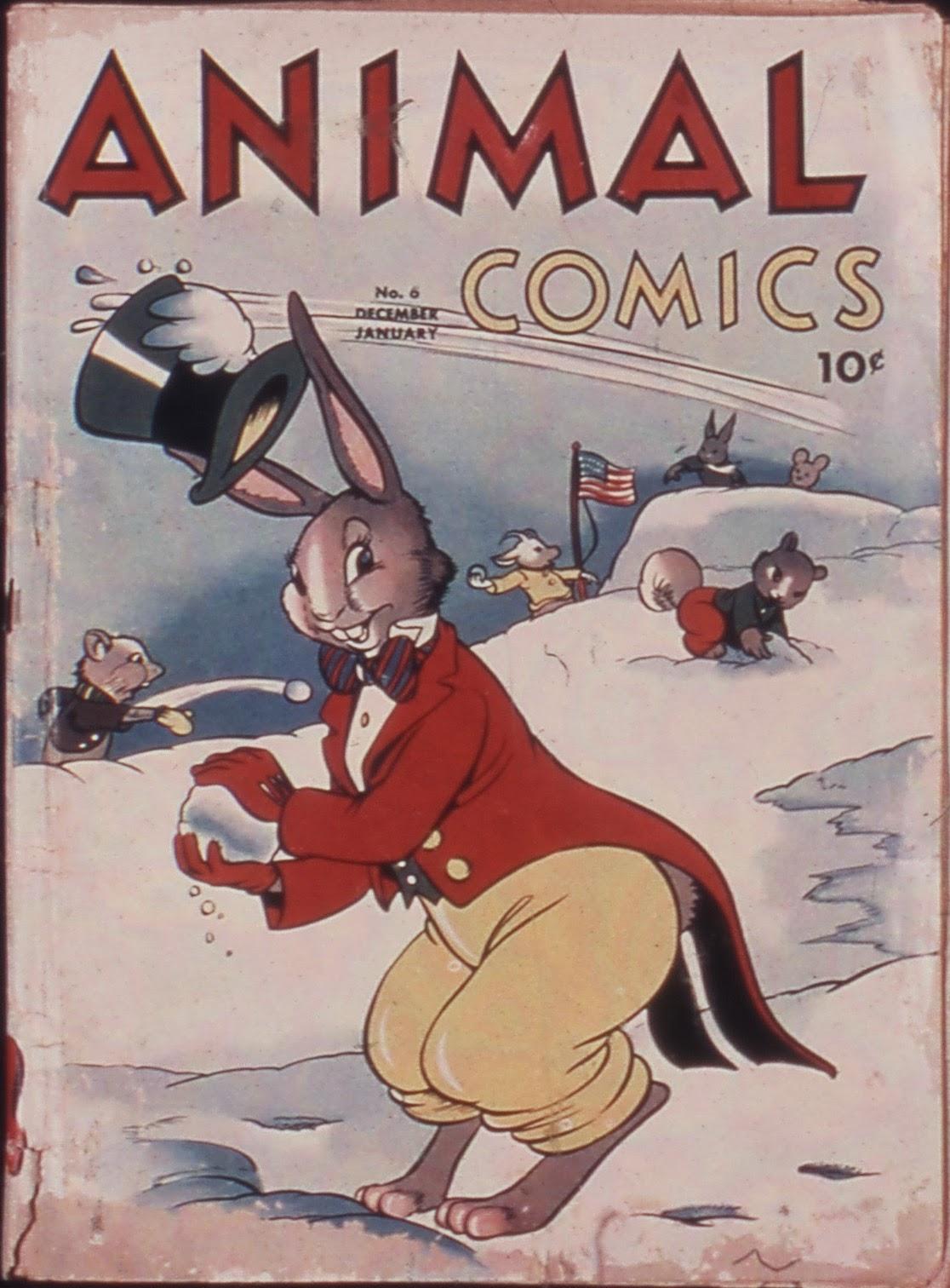 Animal Comics 6 Page 1