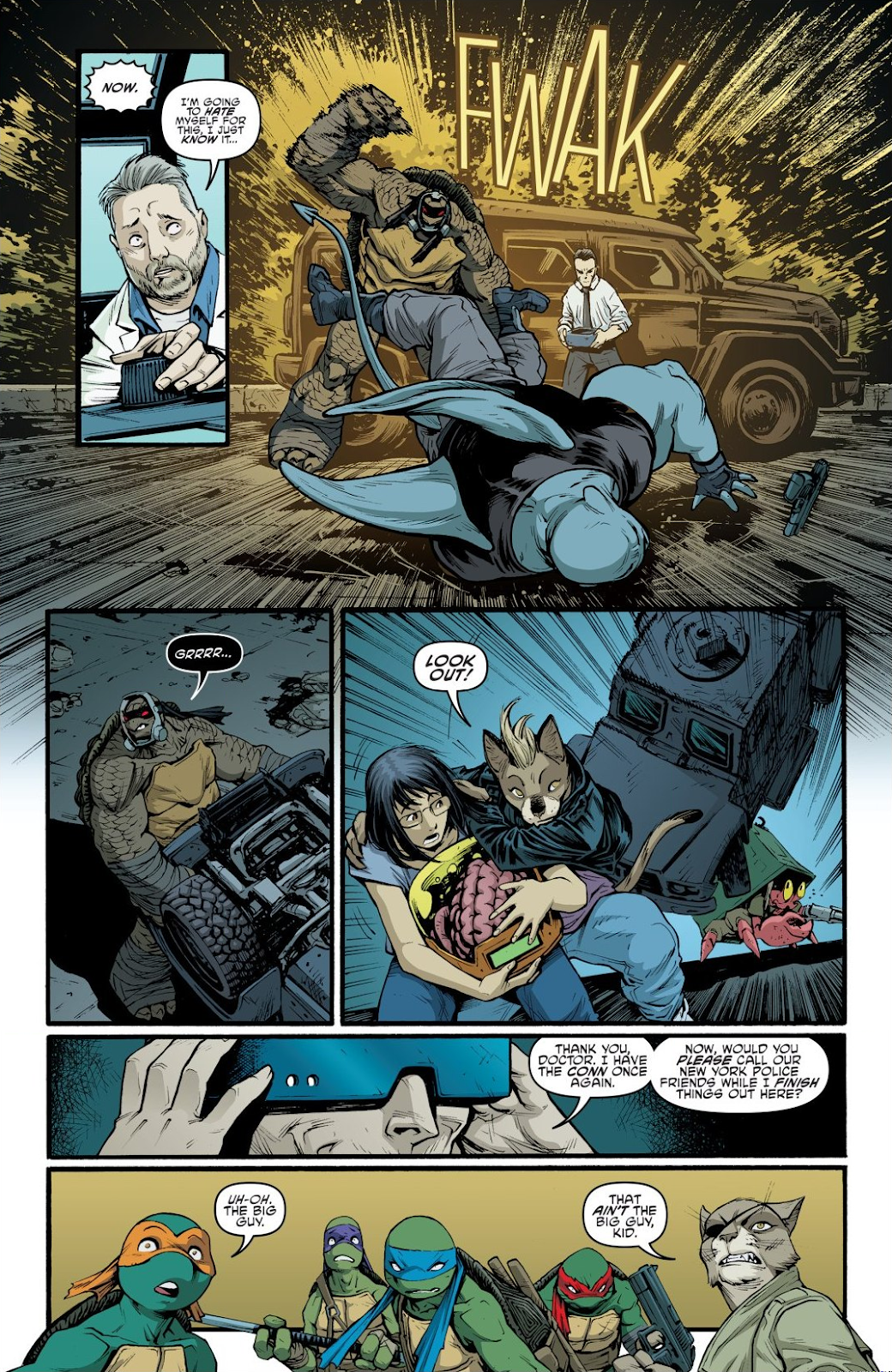 Read online Teenage Mutant Ninja Turtles: The IDW Collection comic -  Issue # TPB 9 (Part 1) - 87