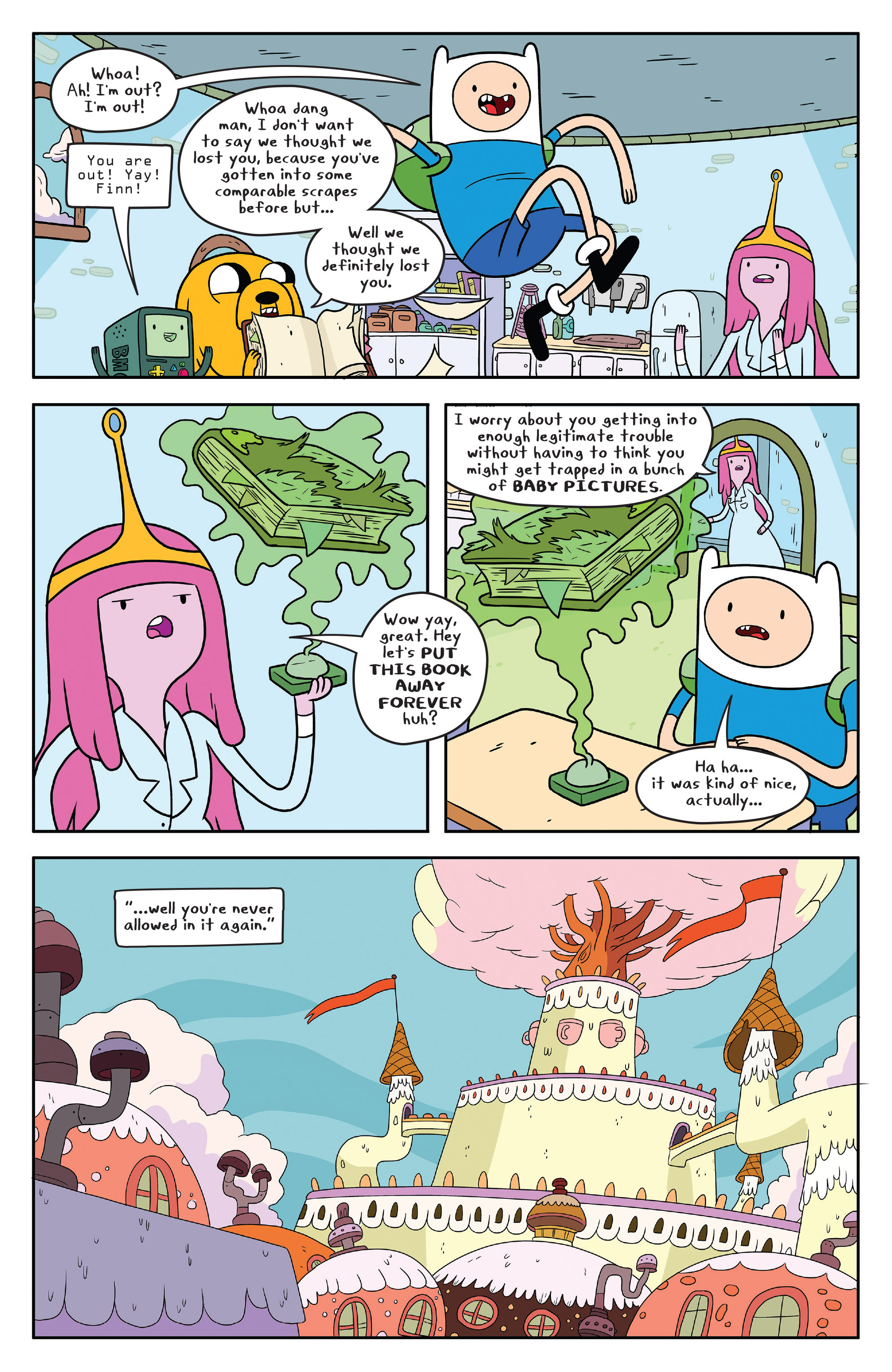 Read online Adventure Time comic -  Issue #50 - 30