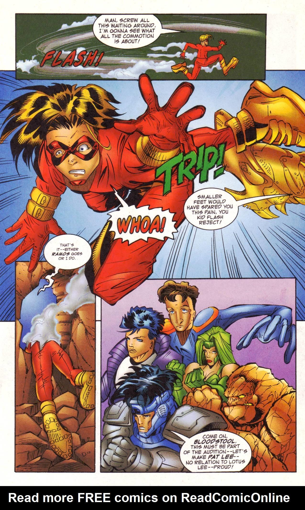 Read online Avengeblade comic -  Issue #2 - 13