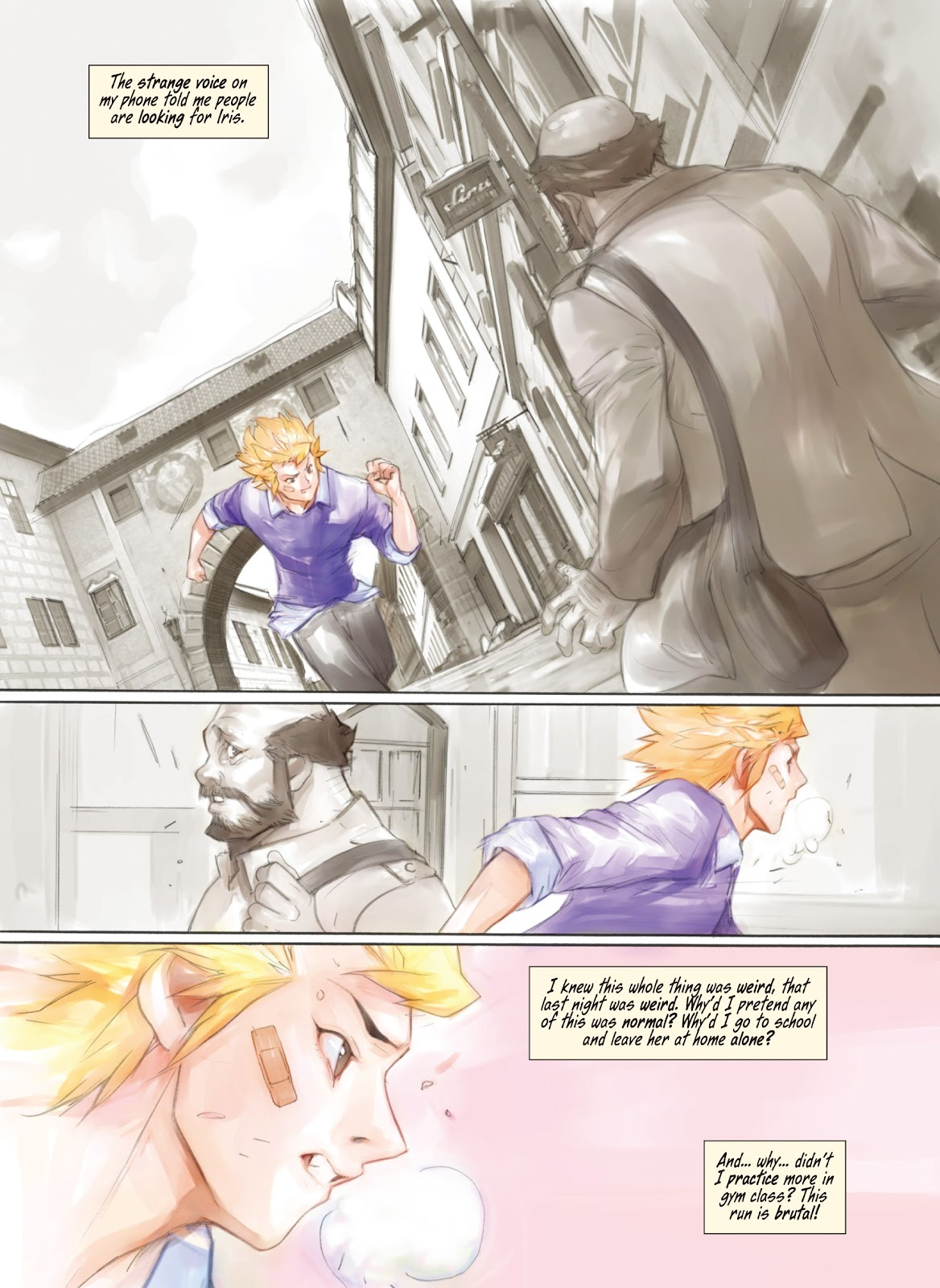 Read online Makeshift Miracle: The Girl From Nowhere comic -  Issue #5 - 3