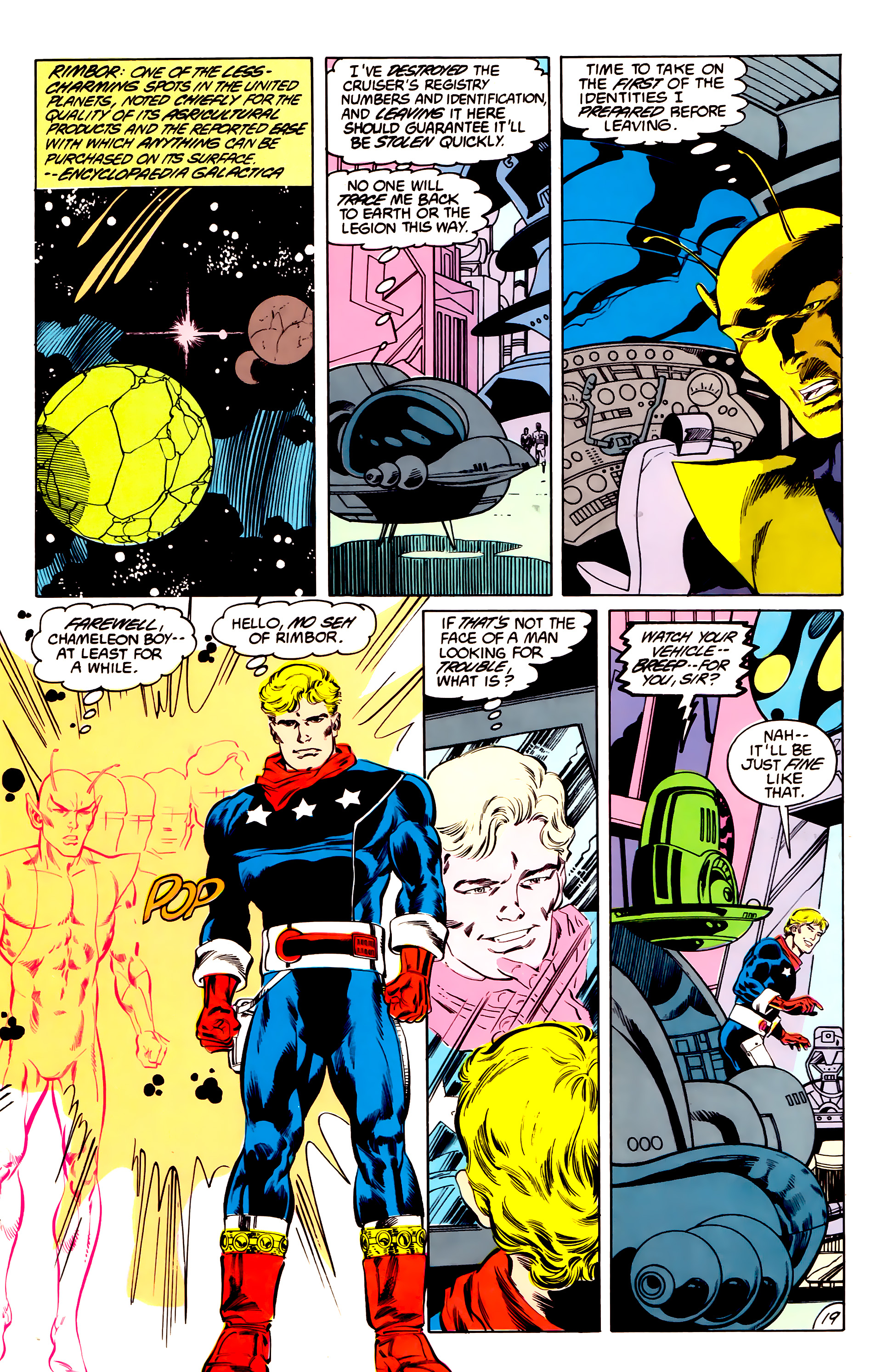 Legion of Super-Heroes (1984) 43 Page 19