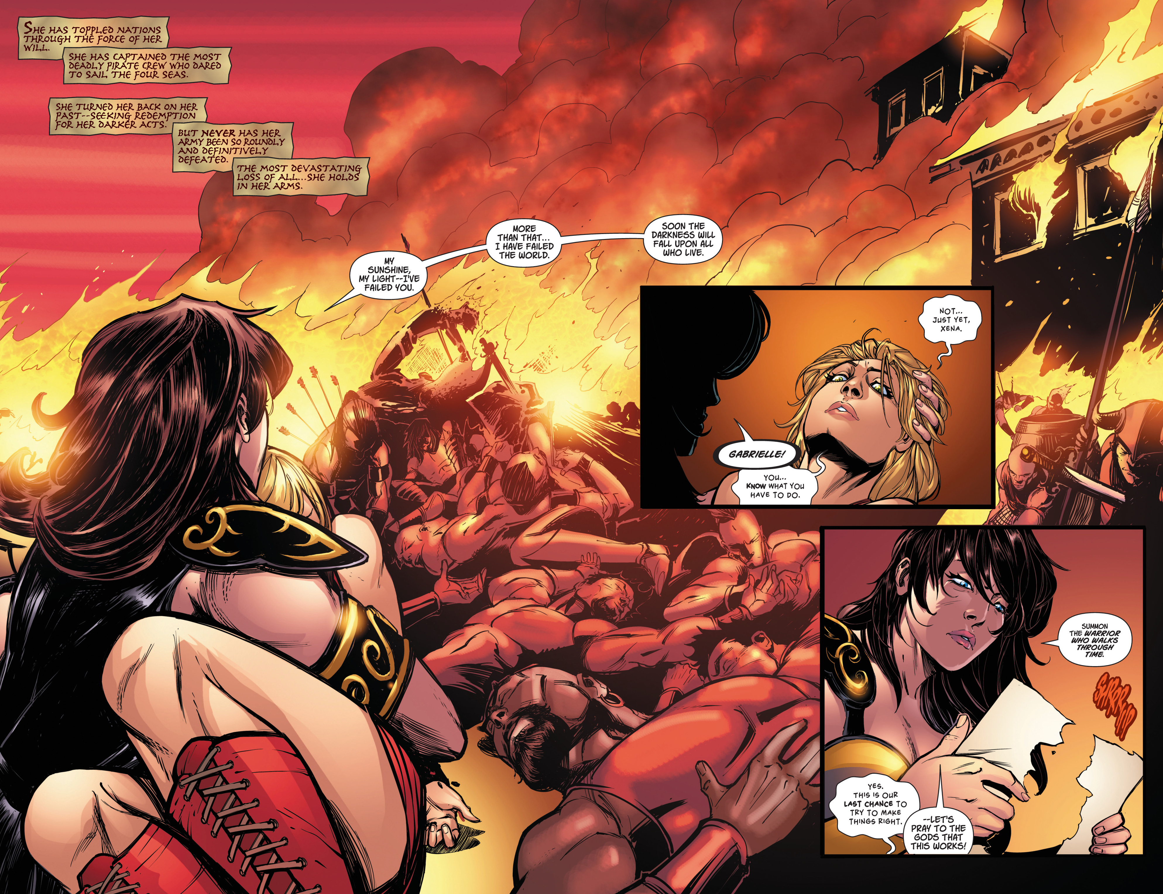 Read online Army Of Darkness/Xena: Forever…And A Day comic -  Issue #2 - 4