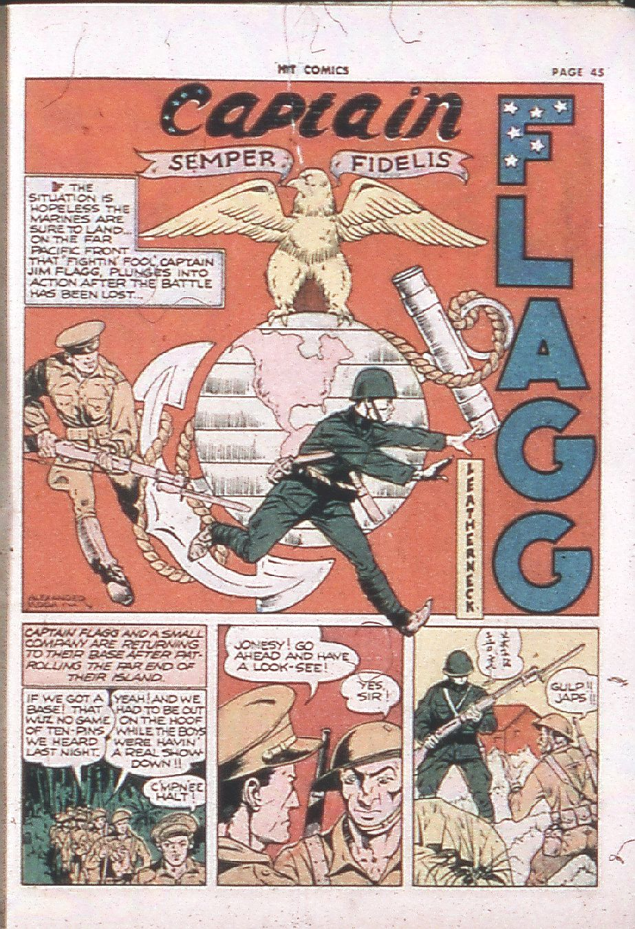 Read online Hit Comics comic -  Issue #24 - 47