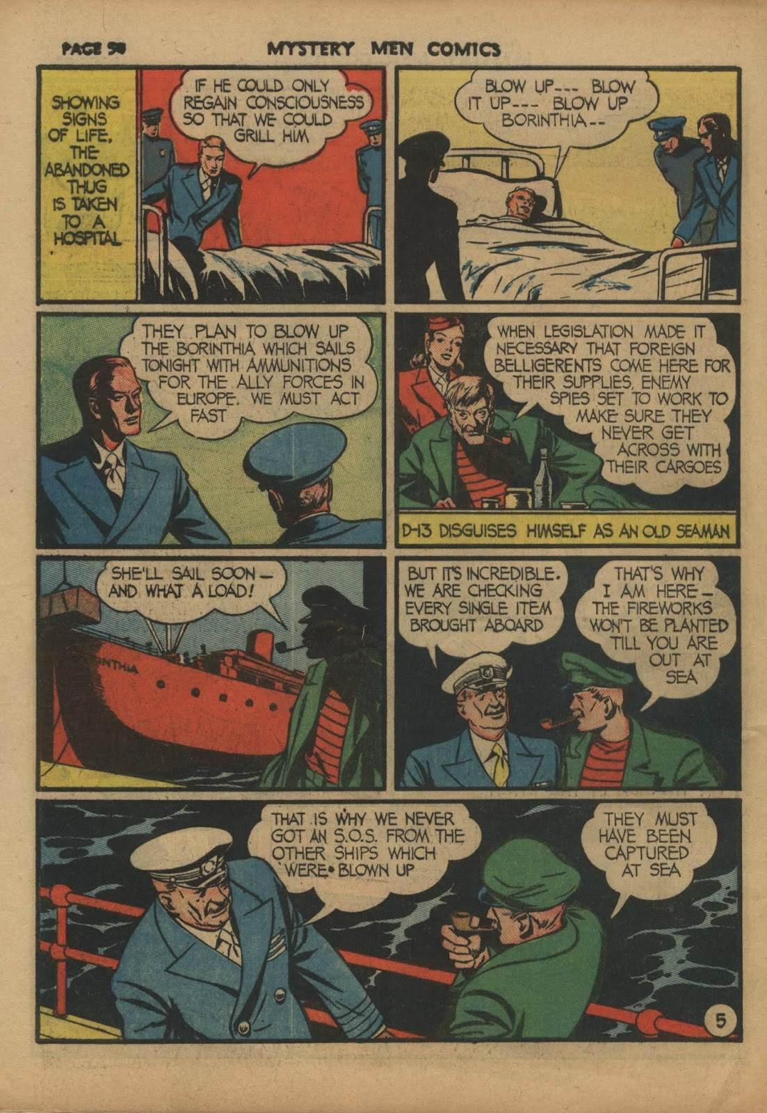 Mystery Men Comics issue 10 - Page 56