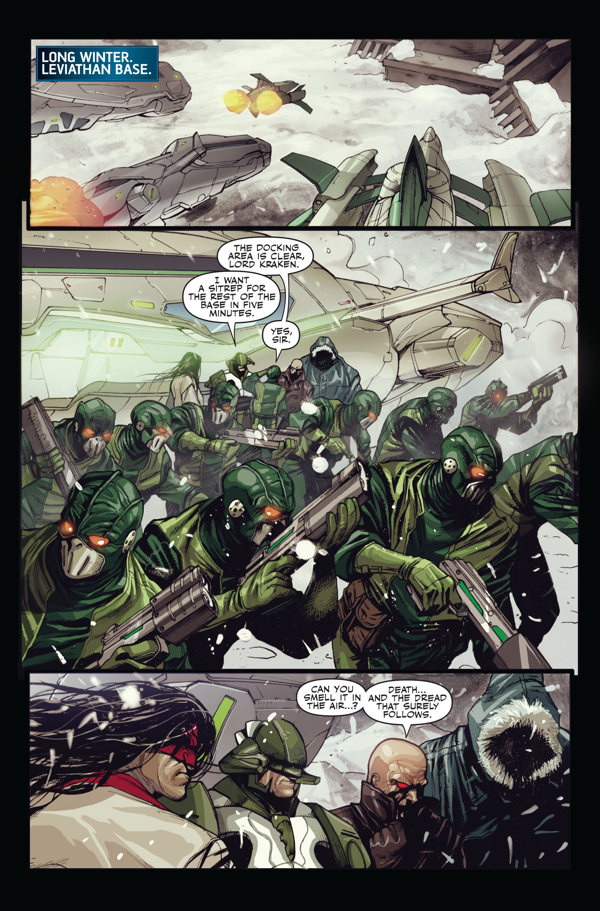 Read online Secret Warriors comic -  Issue #15 - 8