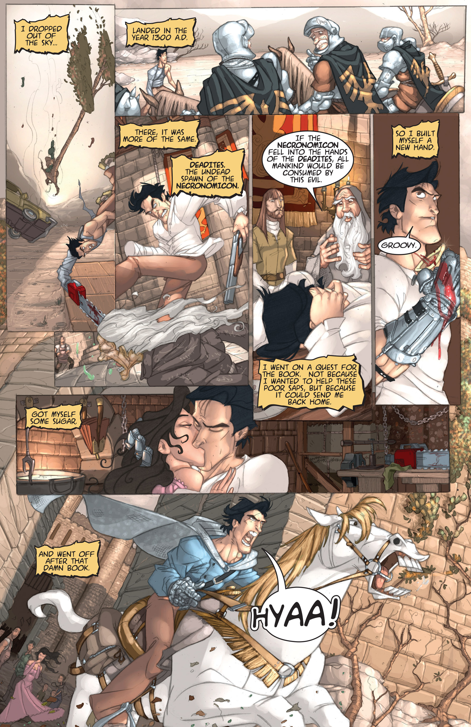 Read online Army of Darkness: Ashes 2 Ashes comic -  Issue #1 - 12