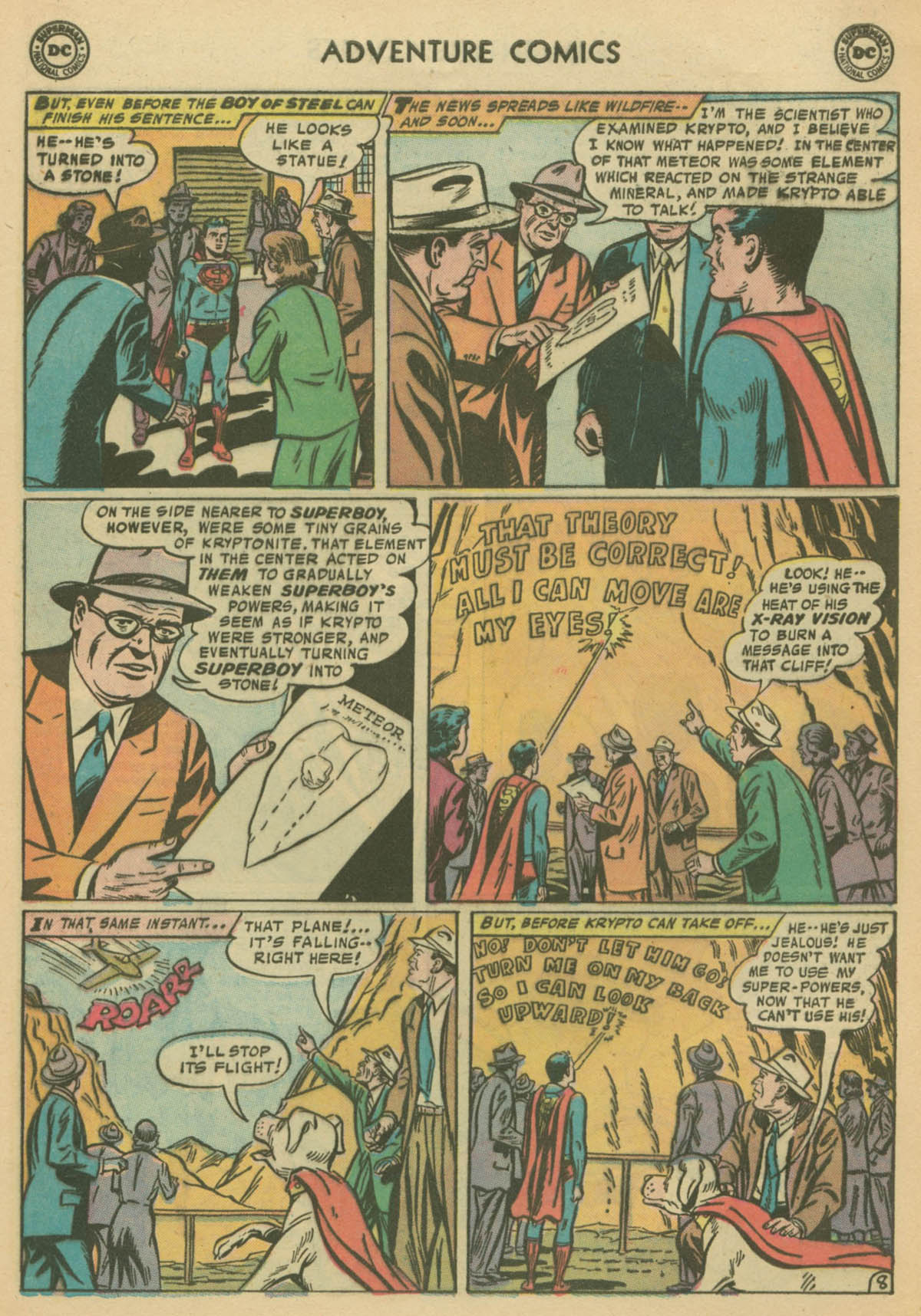 Read online Adventure Comics (1938) comic -  Issue #239 - 10