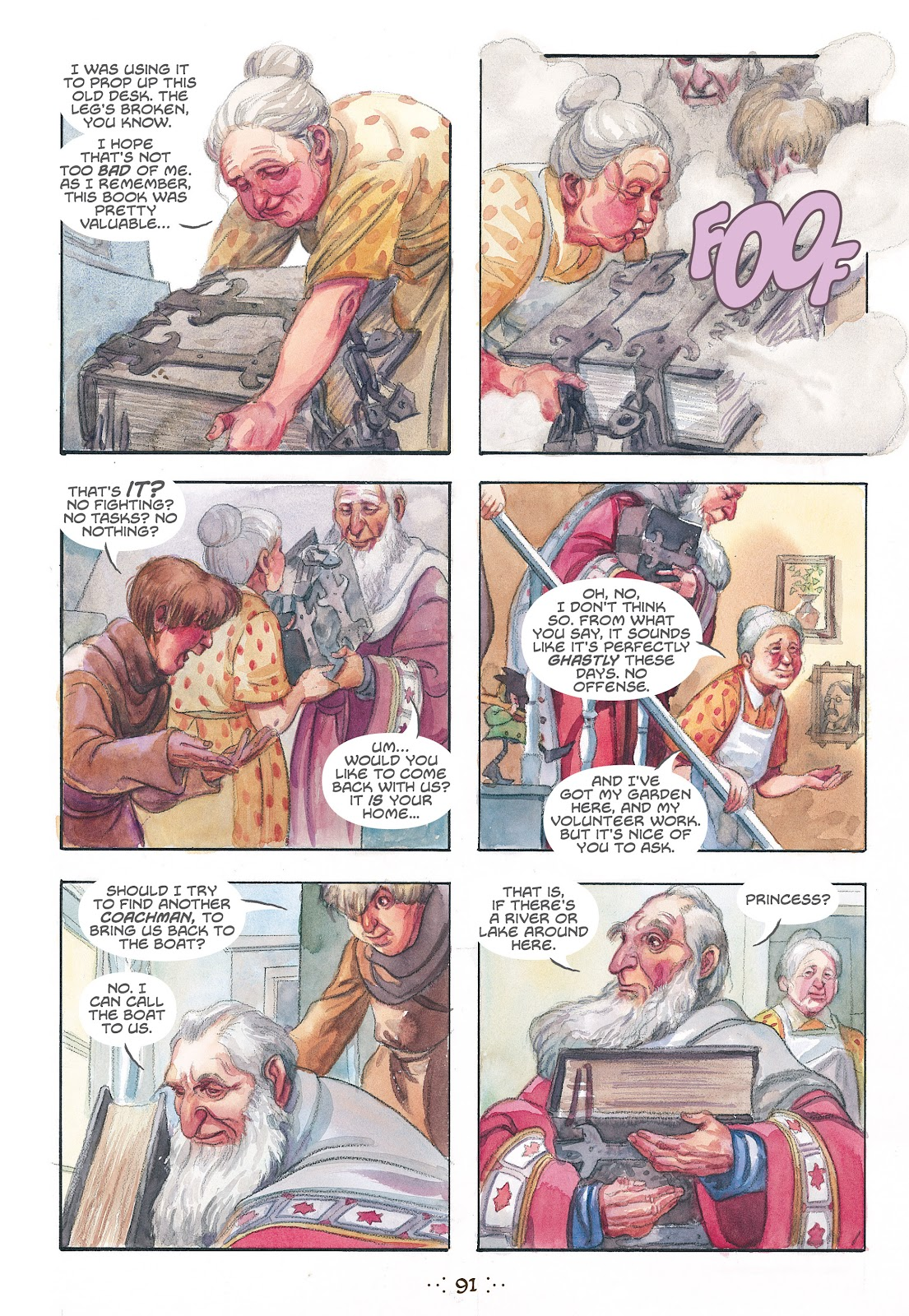 Read online The Wizard's Tale comic -  Issue # TPB - 87
