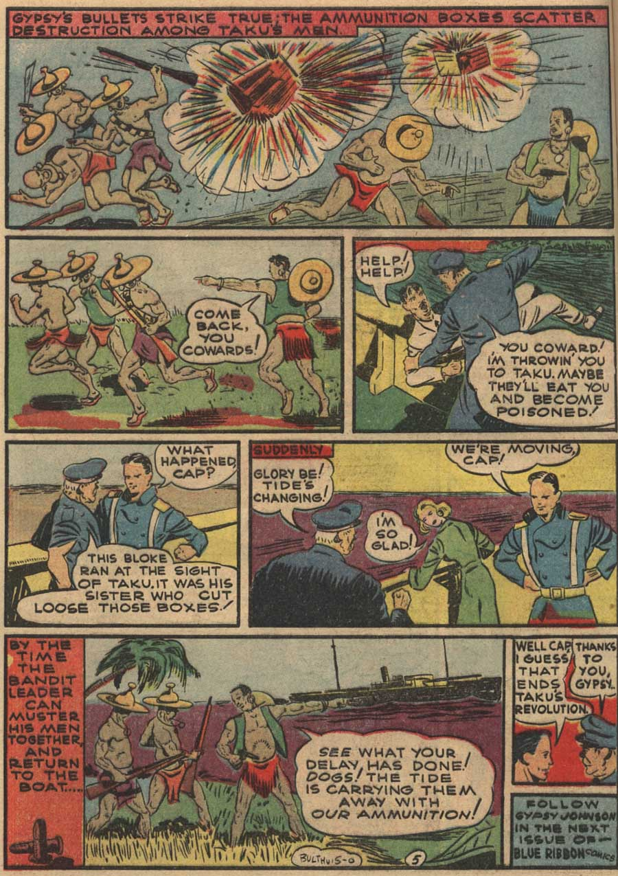 Blue Ribbon Comics (1939) issue 7 - Page 28