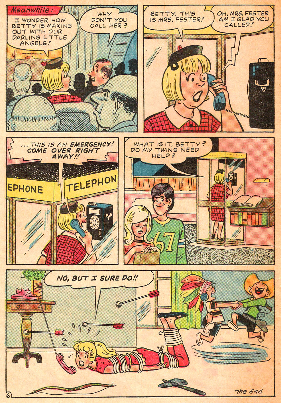 Read online Archie's Girls Betty and Veronica comic -  Issue #122 - 8