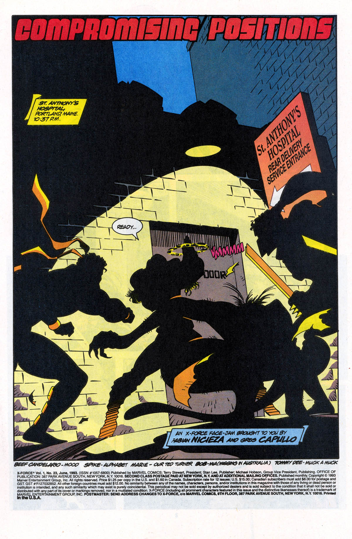 Read online X-Force (1991) comic -  Issue #23 - 3