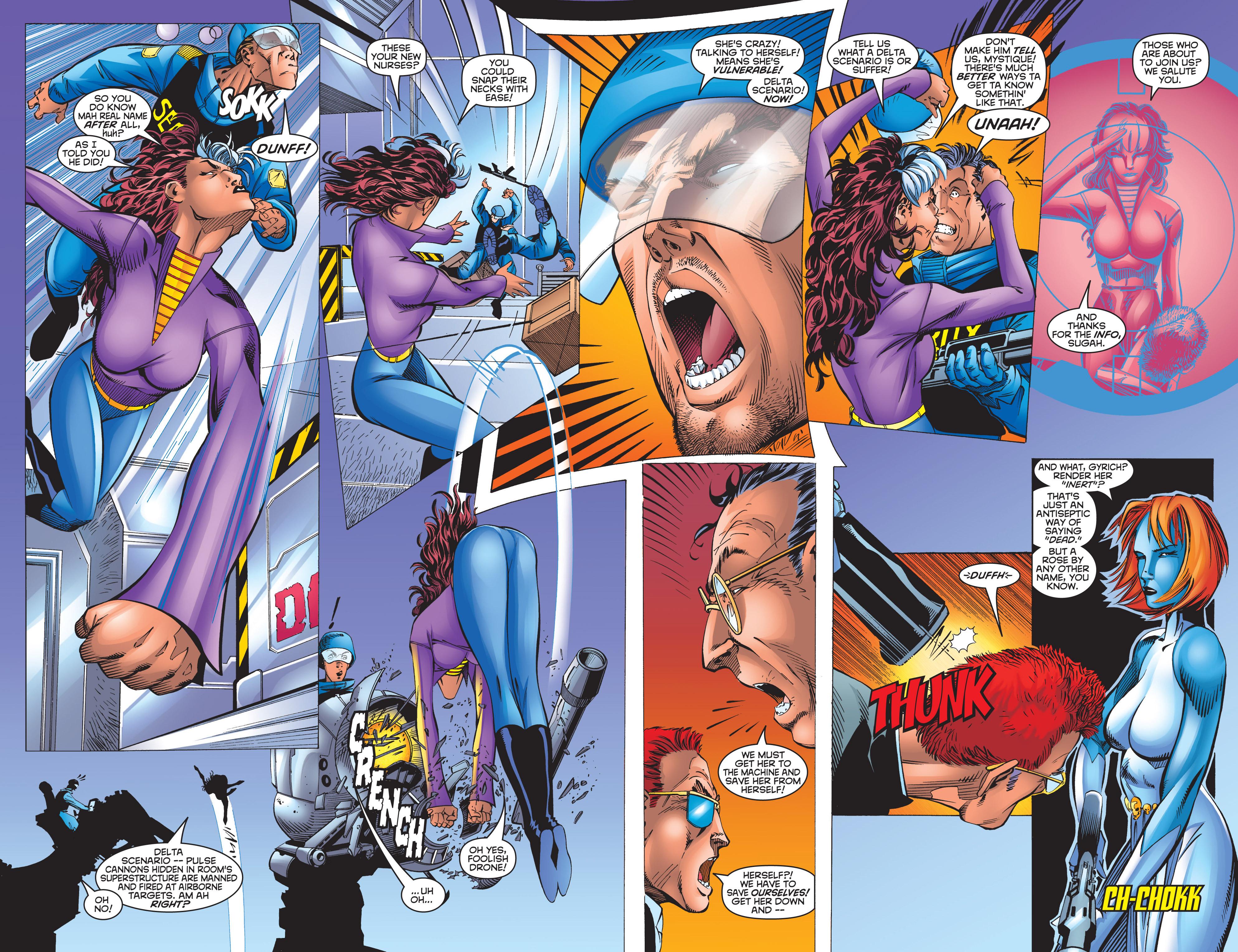 Read online Uncanny X-Men (1963) comic -  Issue #359 - 16