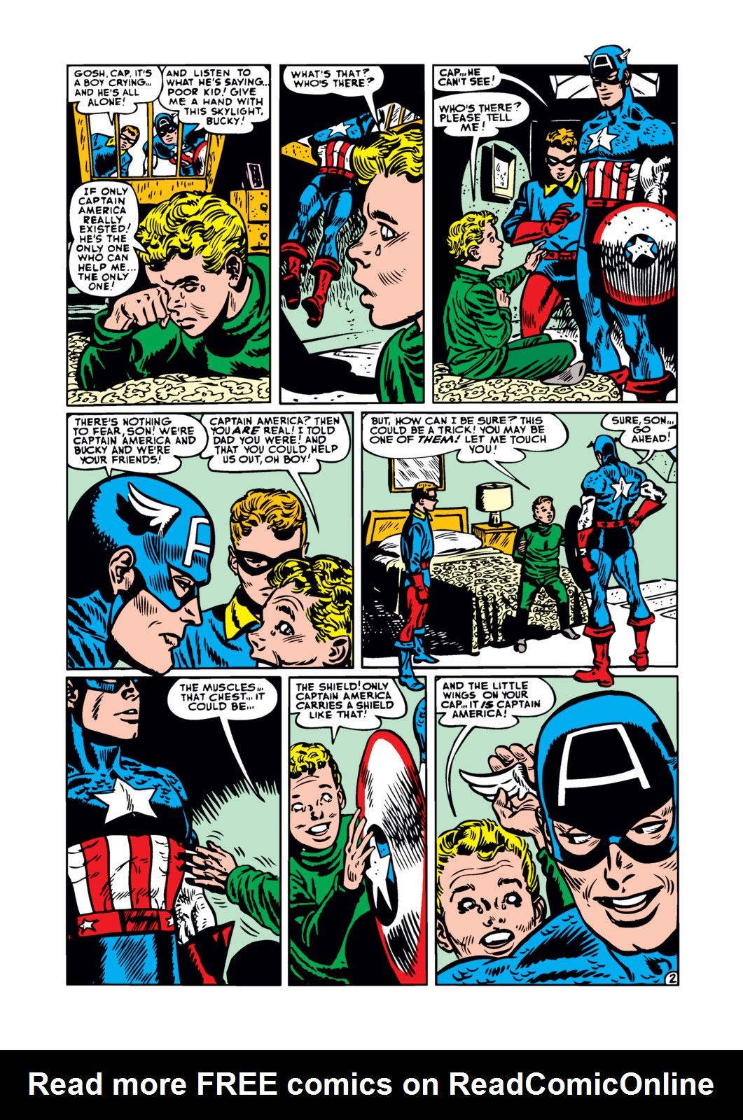 Captain America Comics 77 Page 2