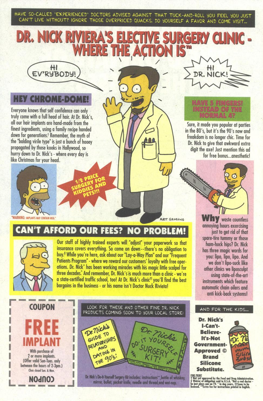 Read online Simpsons Comics comic -  Issue #16 - 28