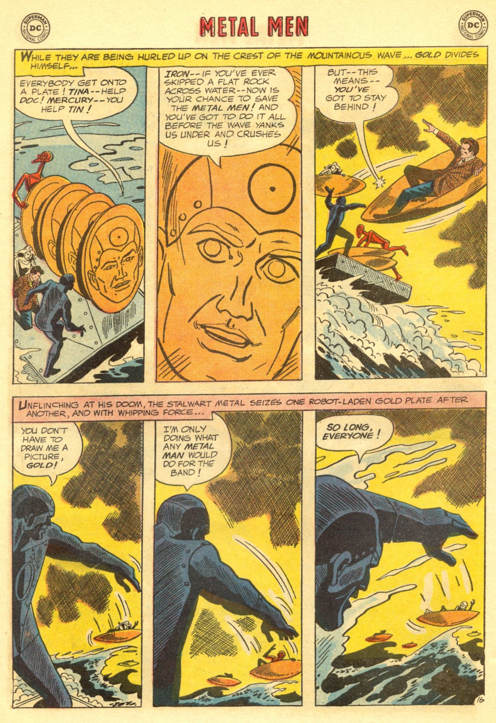 Comic Metal Men (1963) issue 11