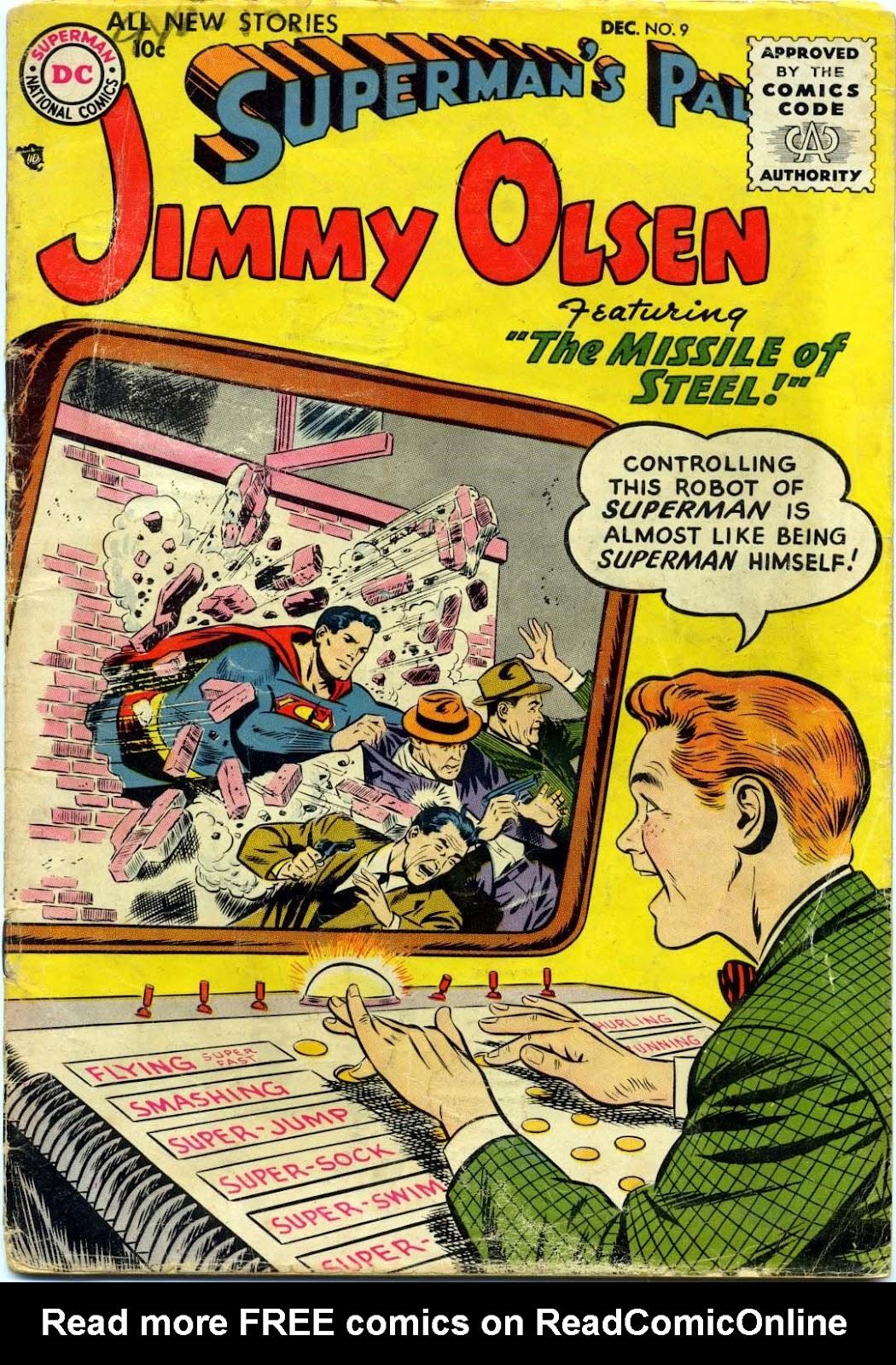 Supermans Pal Jimmy Olsen (1954) 9 Page 1