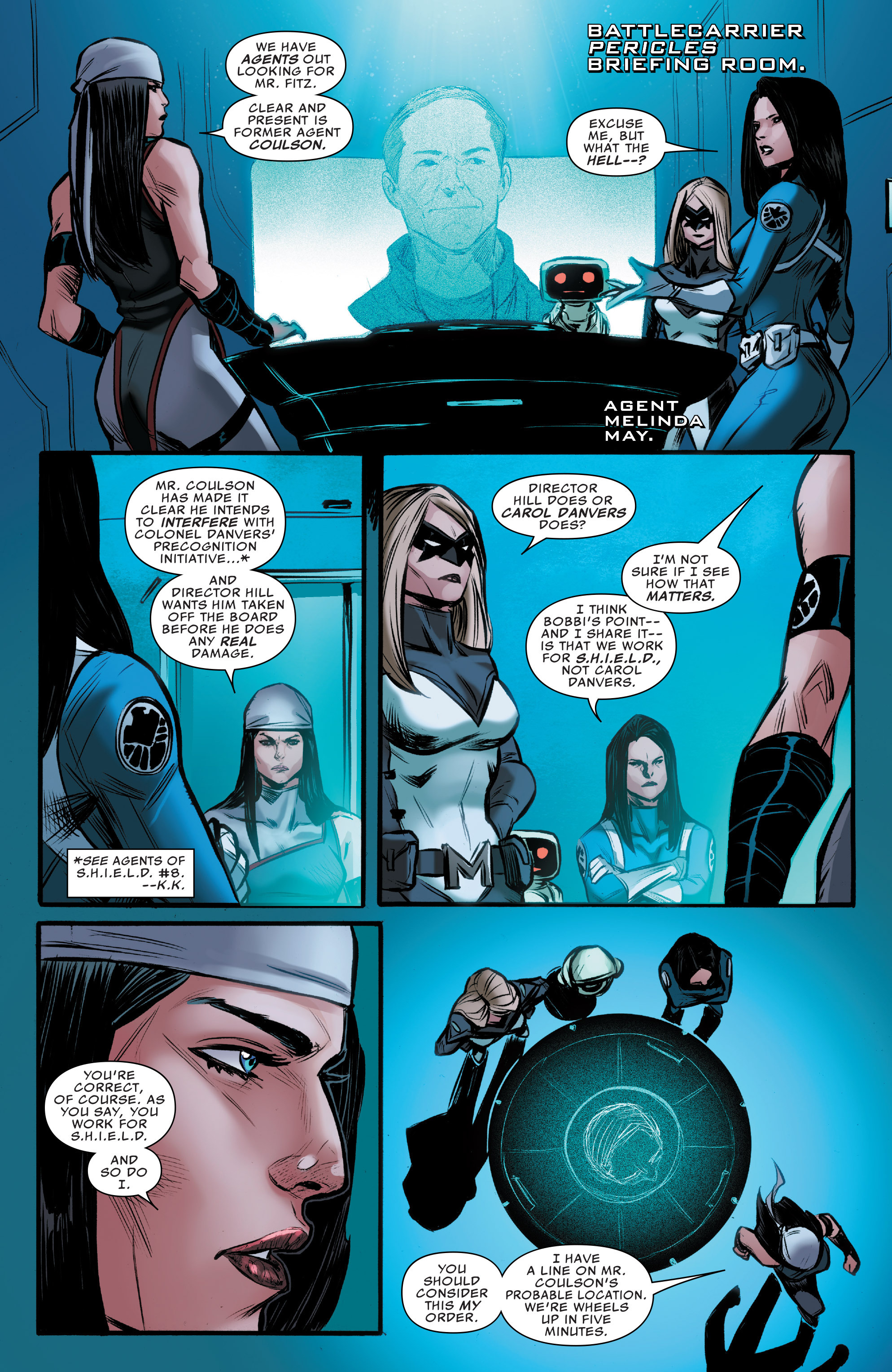 Read online Agents of S.H.I.E.L.D. comic -  Issue #9 - 10